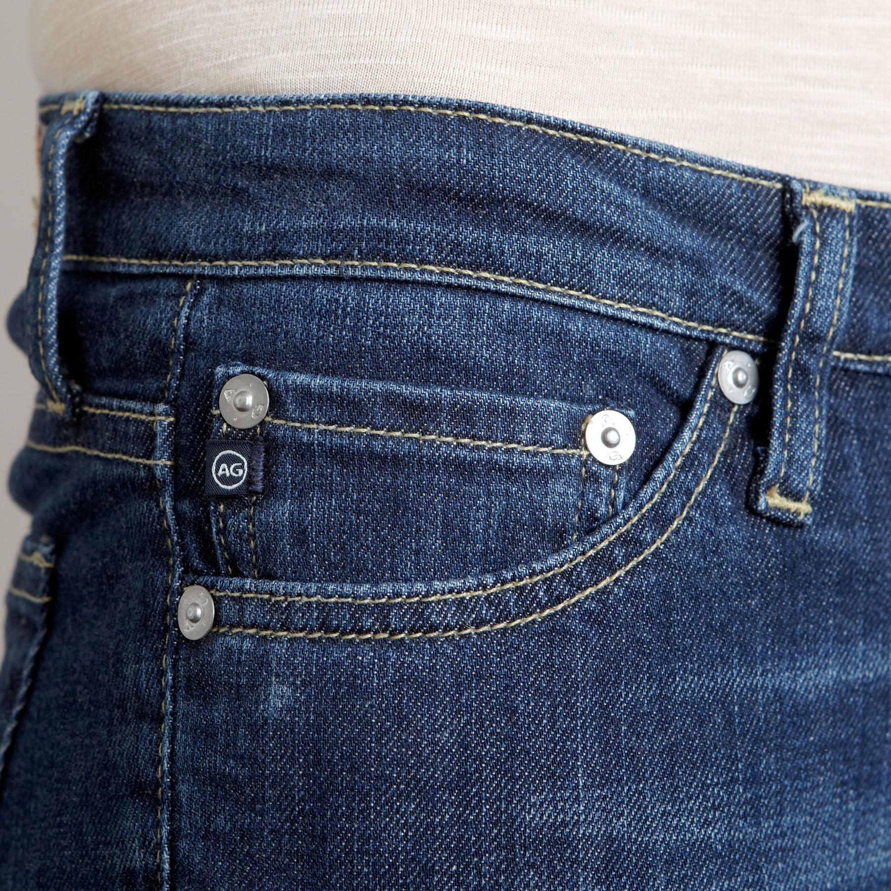 A G ANGELINA BOOTCUT IN GRANT WASH JEANS - PETITES: View 4