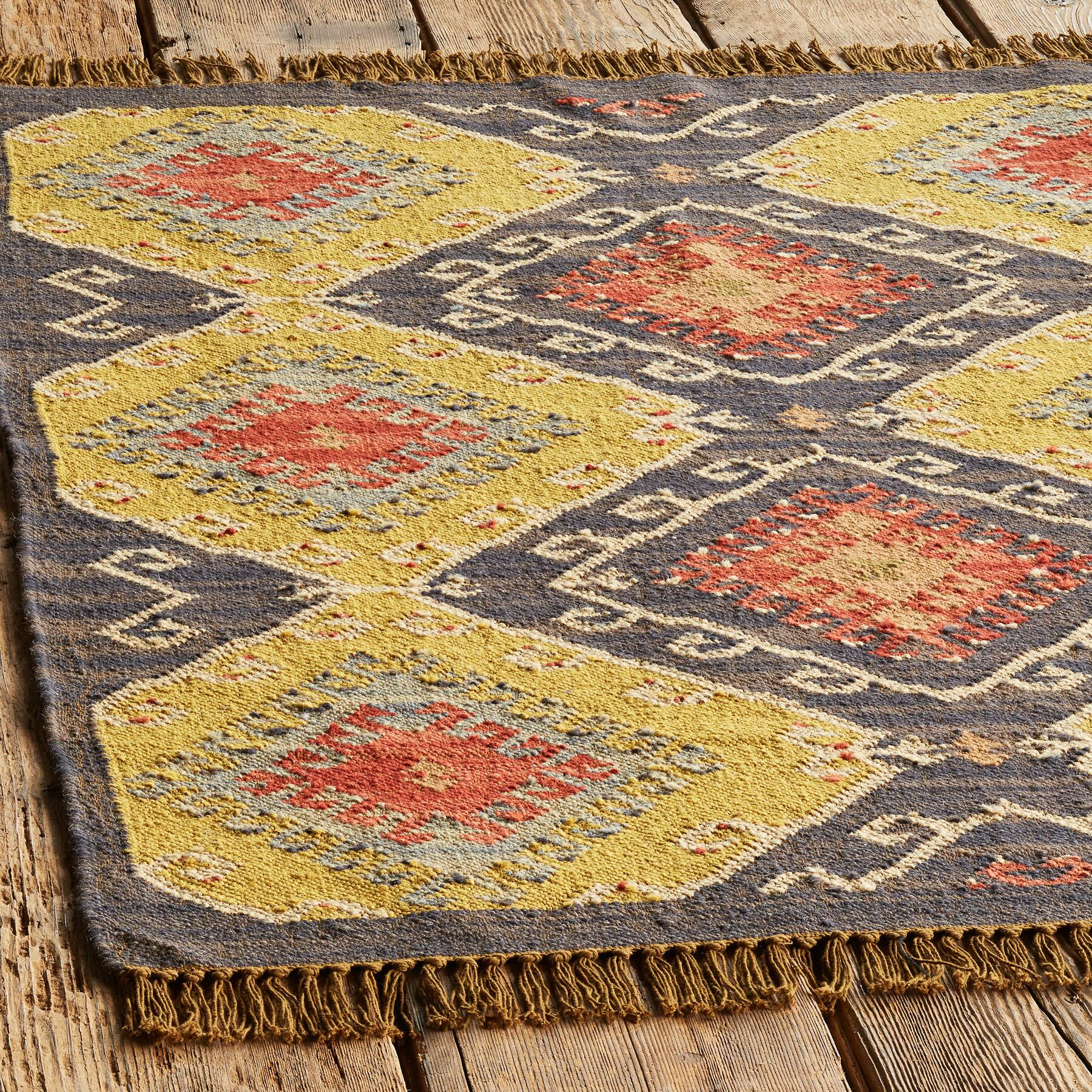 CELESTIAL DIAMOND DHURRIE RUG: View 2