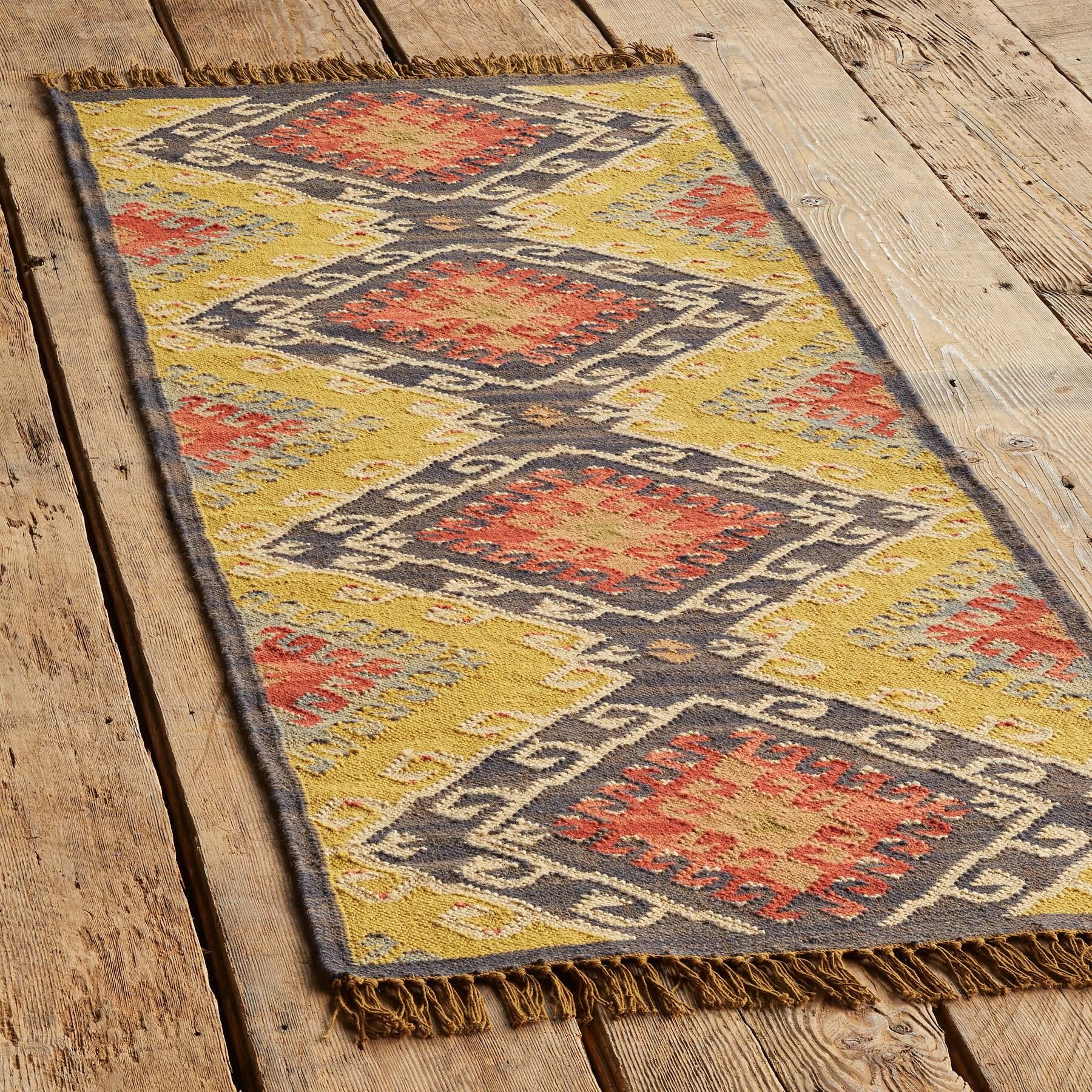 CELESTIAL DIAMOND DHURRIE RUG: View 3