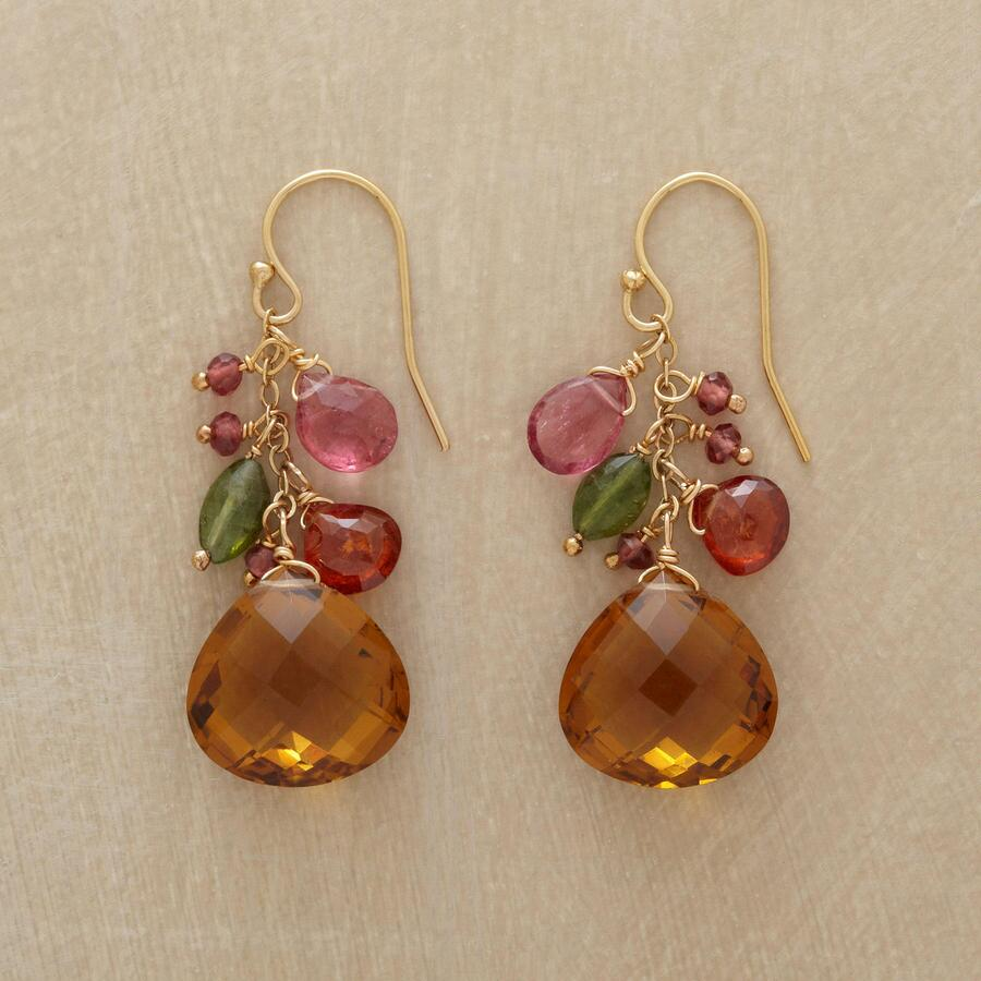 HEARTS AFIRE EARRINGS