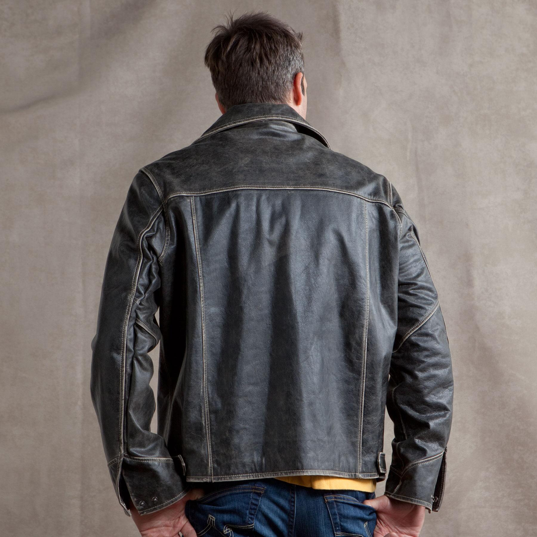 DAILY RIDER LEATHER JACKET: View 2
