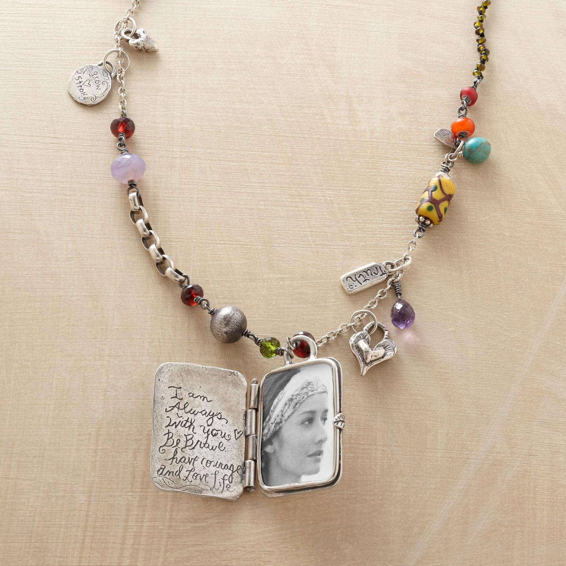 MOTHER NATURE LOCKET NECKLACE: View 3