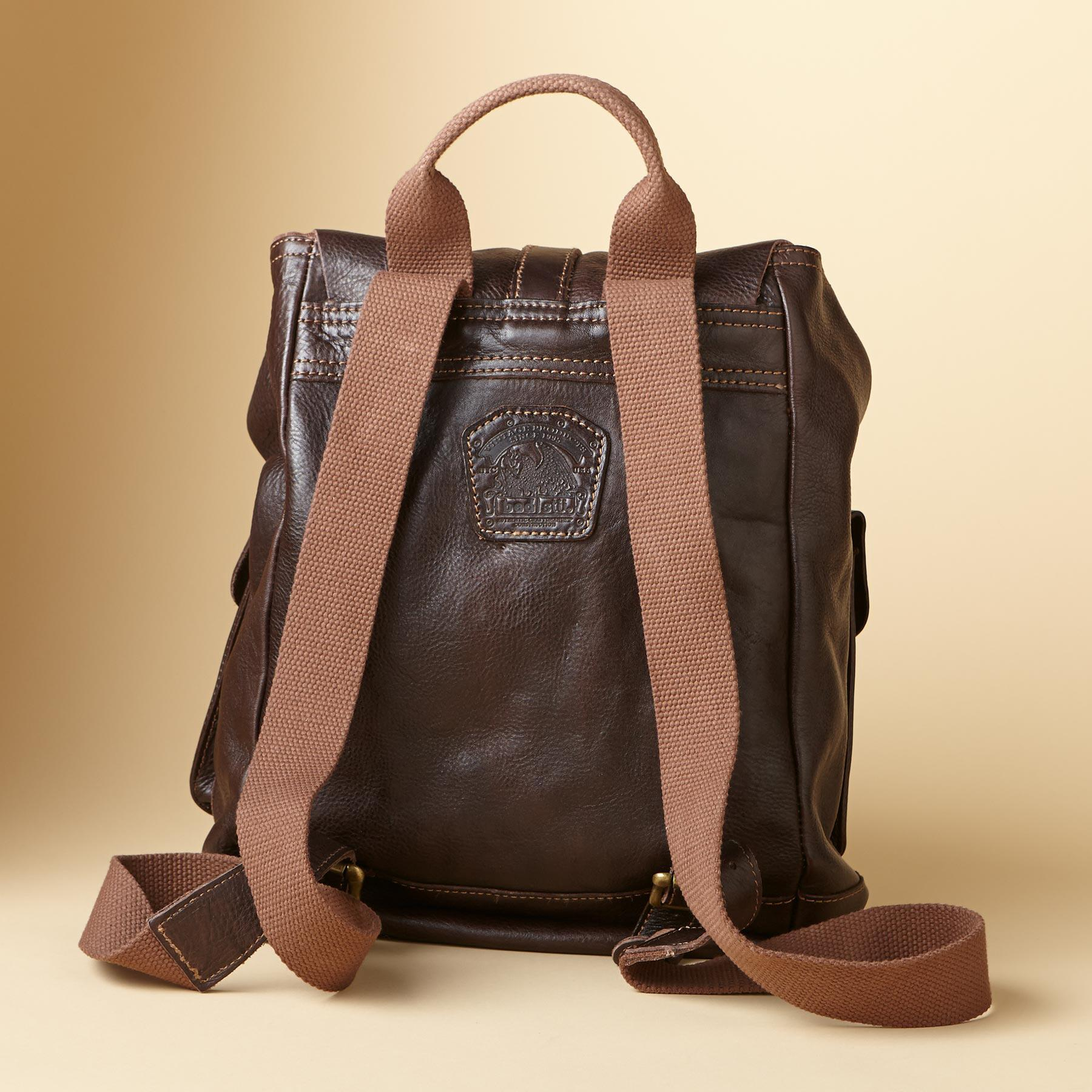 WASHED LEATHER BACKPACK: View 2
