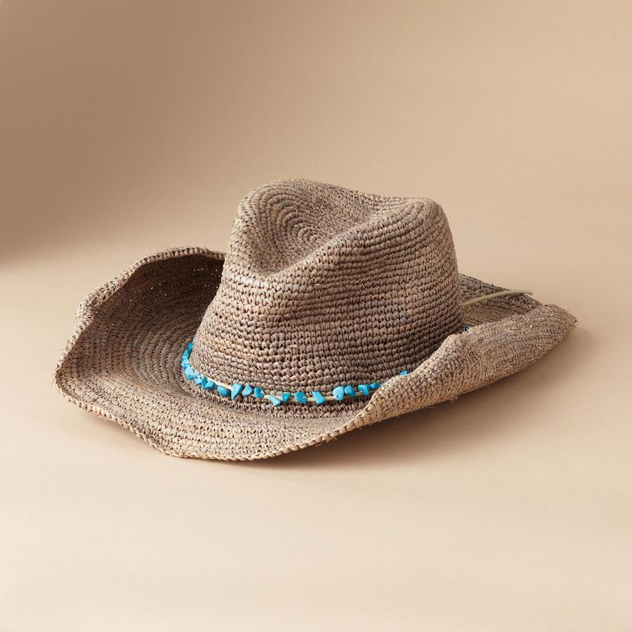 CROCHET COWBOY HAT