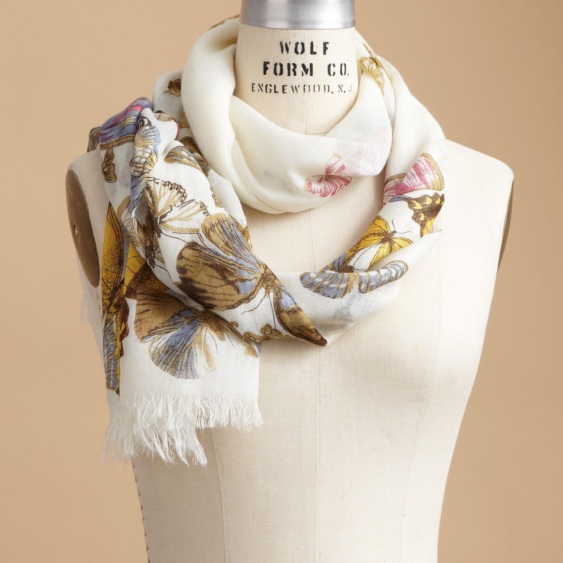 BUTTERFLY SCARF: View 1