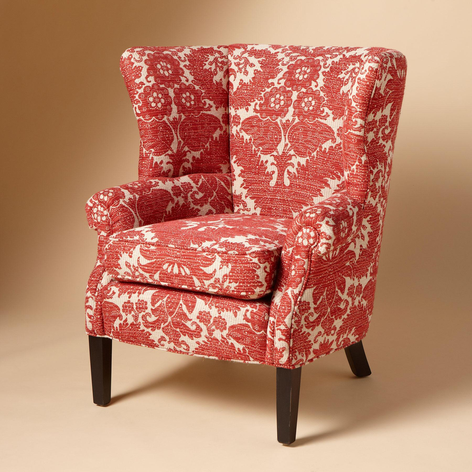 ADDIE WINGBACK CHAIR: View 1