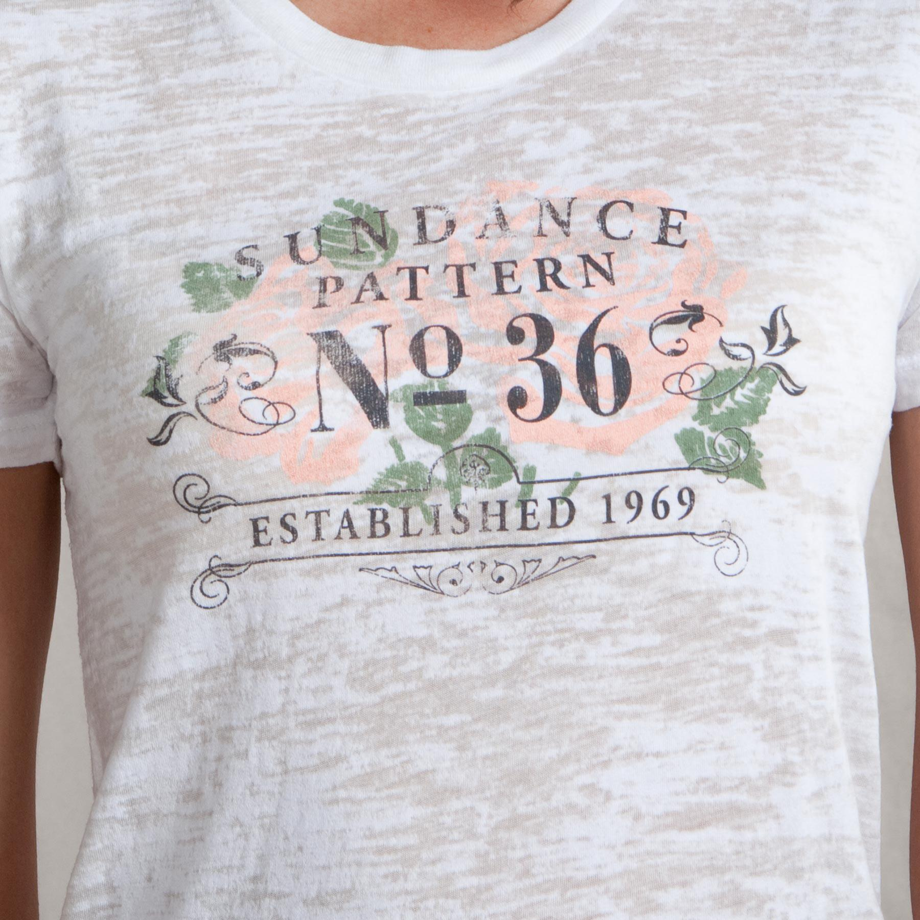 SUNDANCE ROSE PATTERNED TEE: View 2