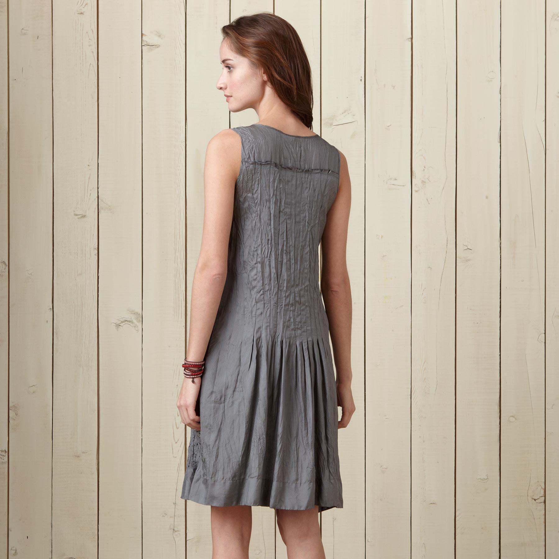 SHADOW SILK DRESS: View 2