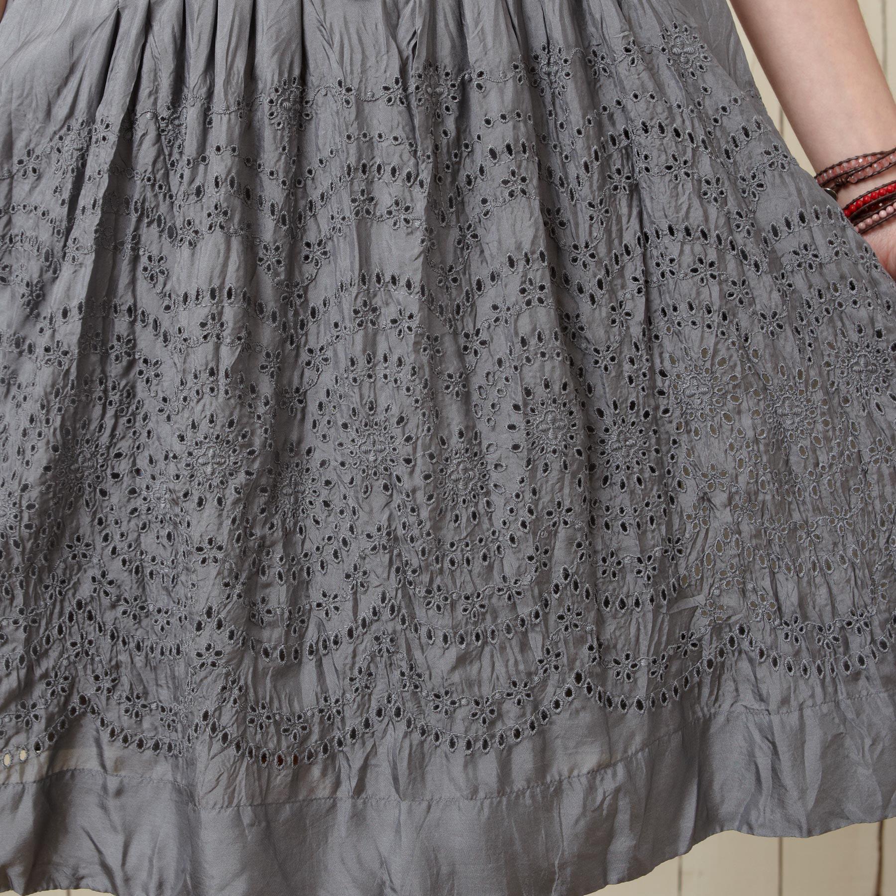 SHADOW SILK DRESS: View 4