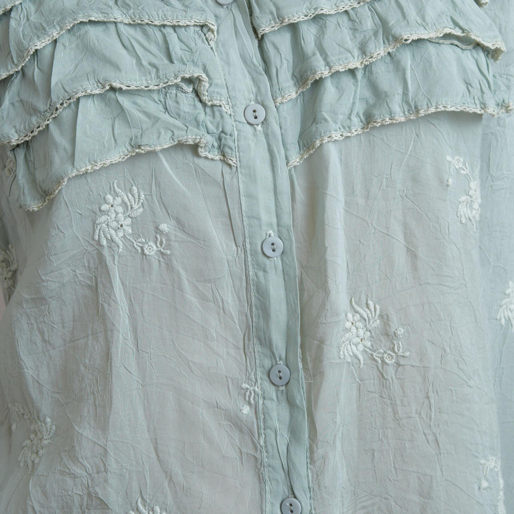 CELIE EMBROIDERED TOP: View 4