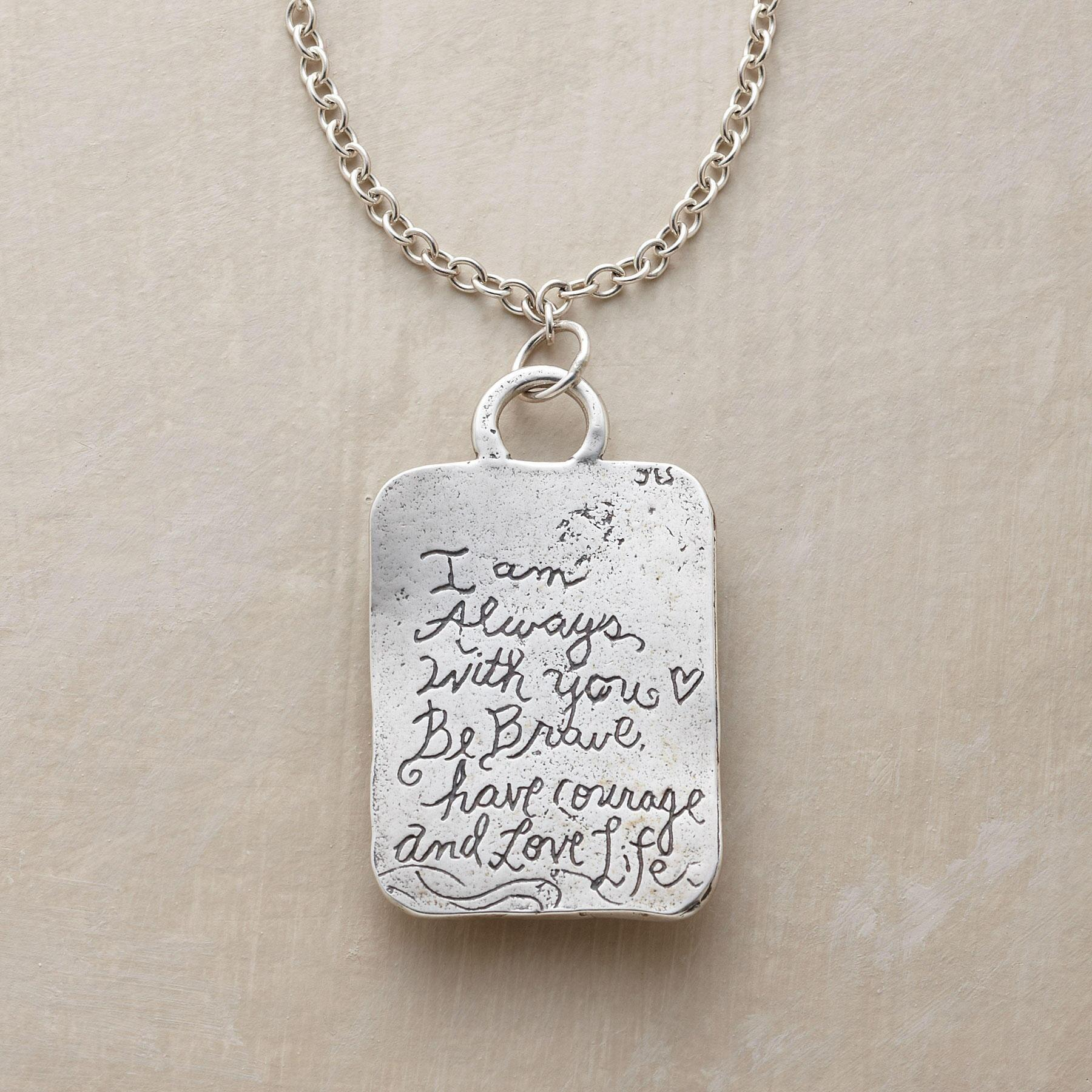 BE BRAVE NECKLACE: View 3