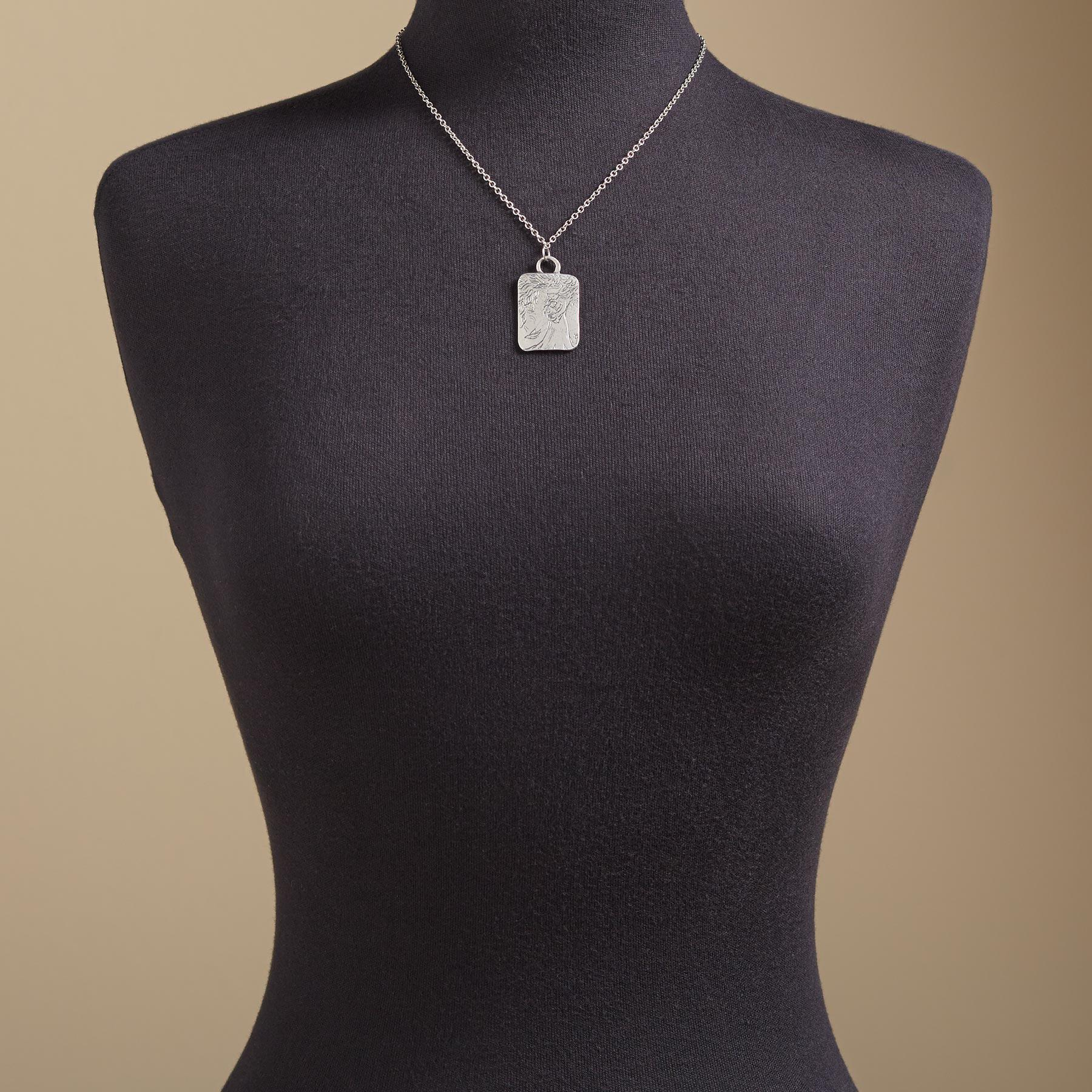 BE BRAVE NECKLACE: View 4