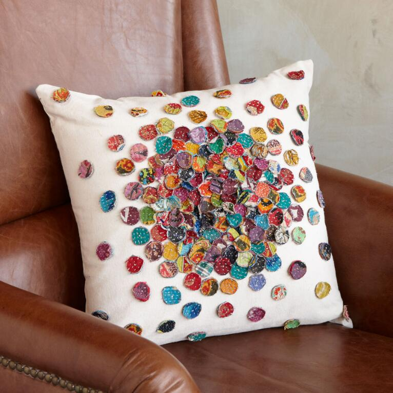GUDARI SARI MOSAIC PILLOW