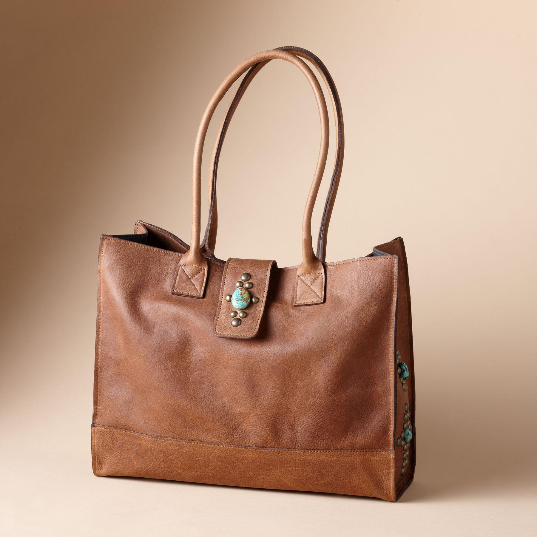 TENNESSEE TURQUOISE TOTE: View 1