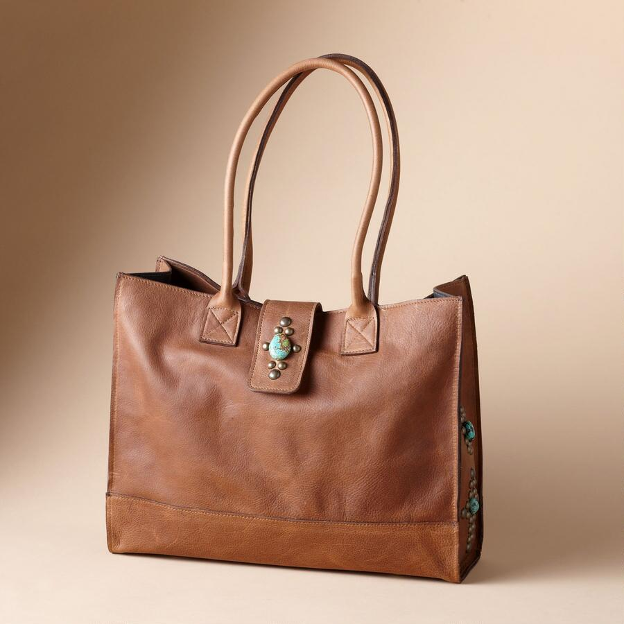 TENNESSEE TURQUOISE TOTE