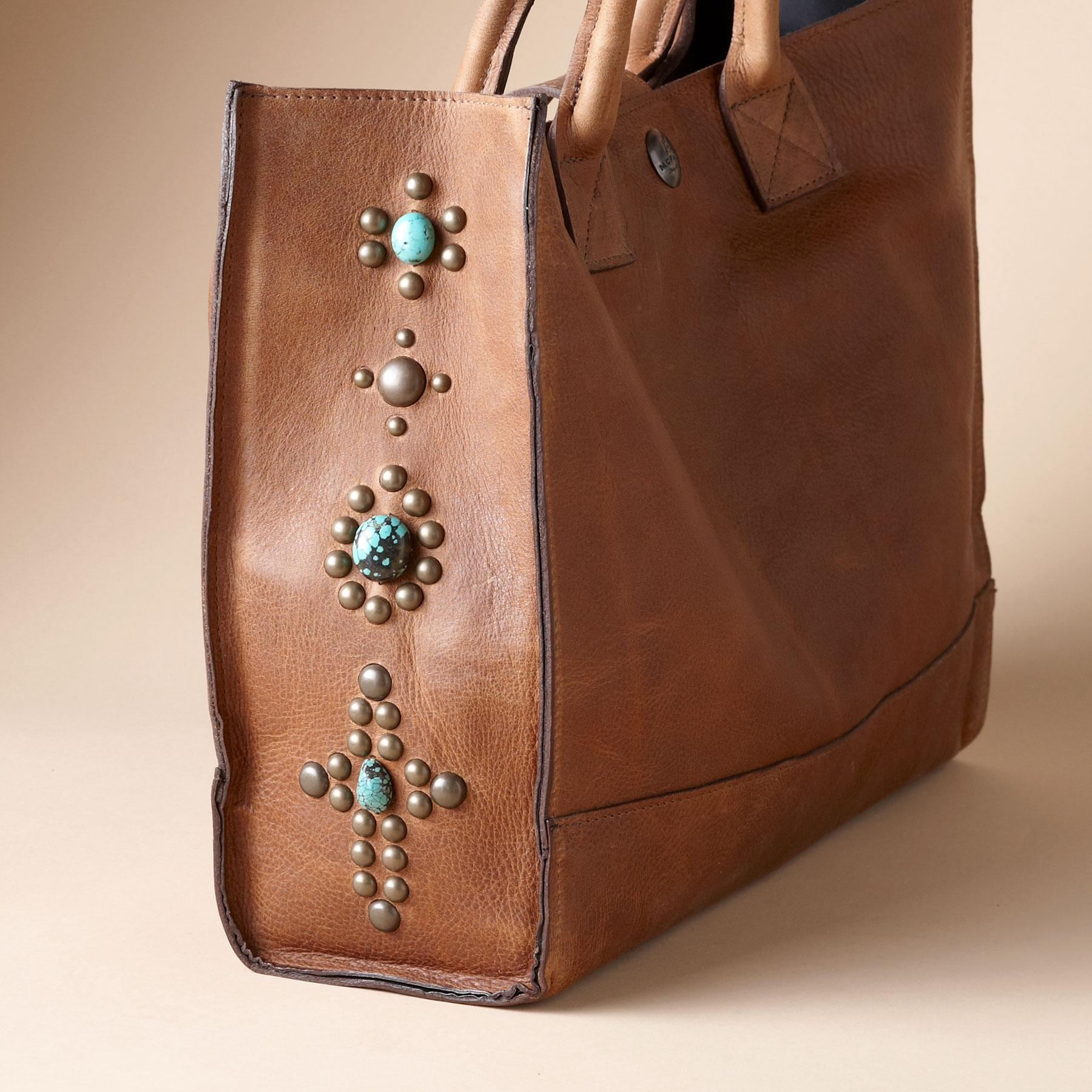 TENNESSEE TURQUOISE TOTE: View 3