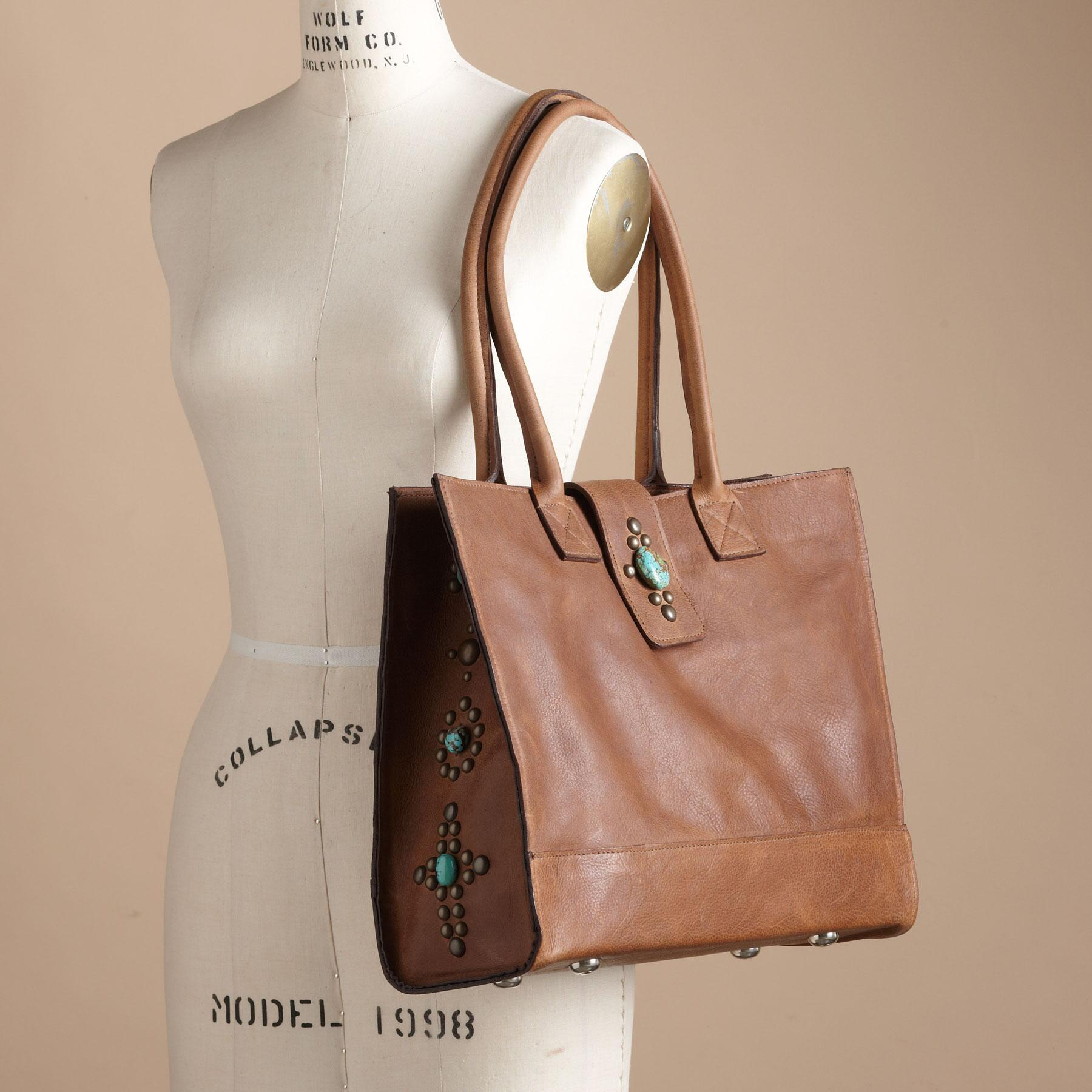 TENNESSEE TURQUOISE TOTE: View 4