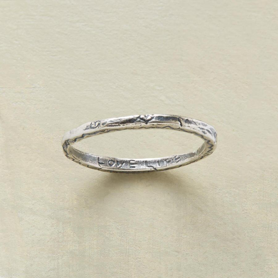 STERLING SILVER VITALITY RING
