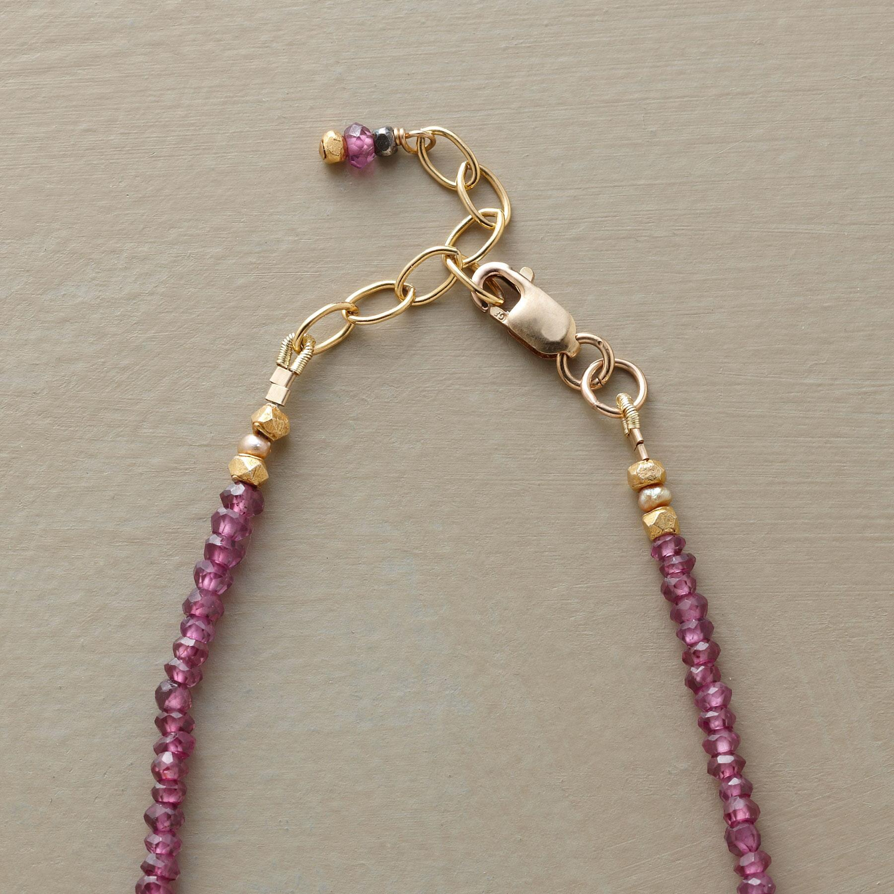 IN THE QUEUE NECKLACE: View 3