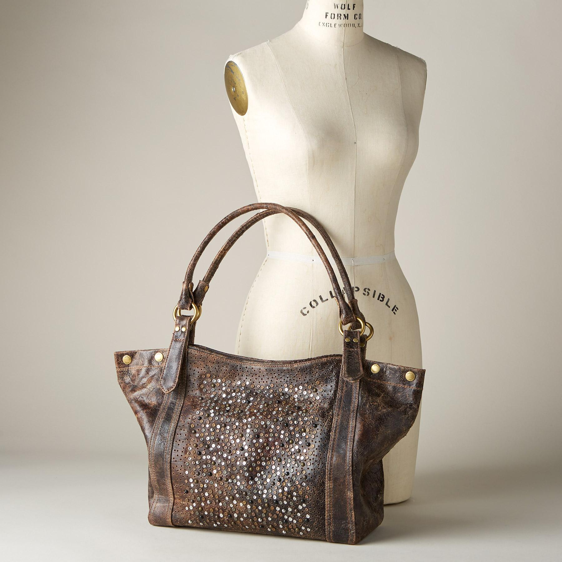 GO ANYWHERE GLITTER HANDBAG BY FRYE: View 4