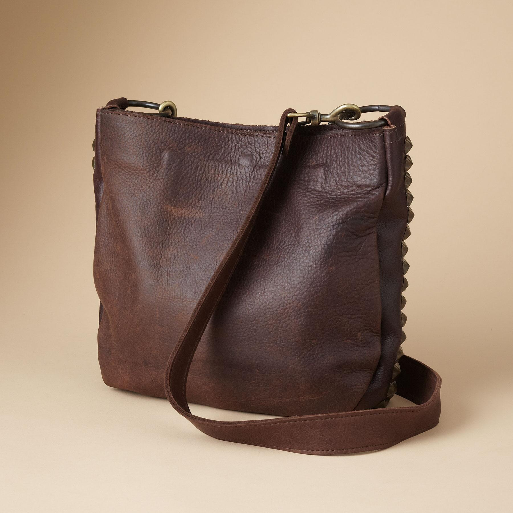 LINES & LEATHER BAG: View 2