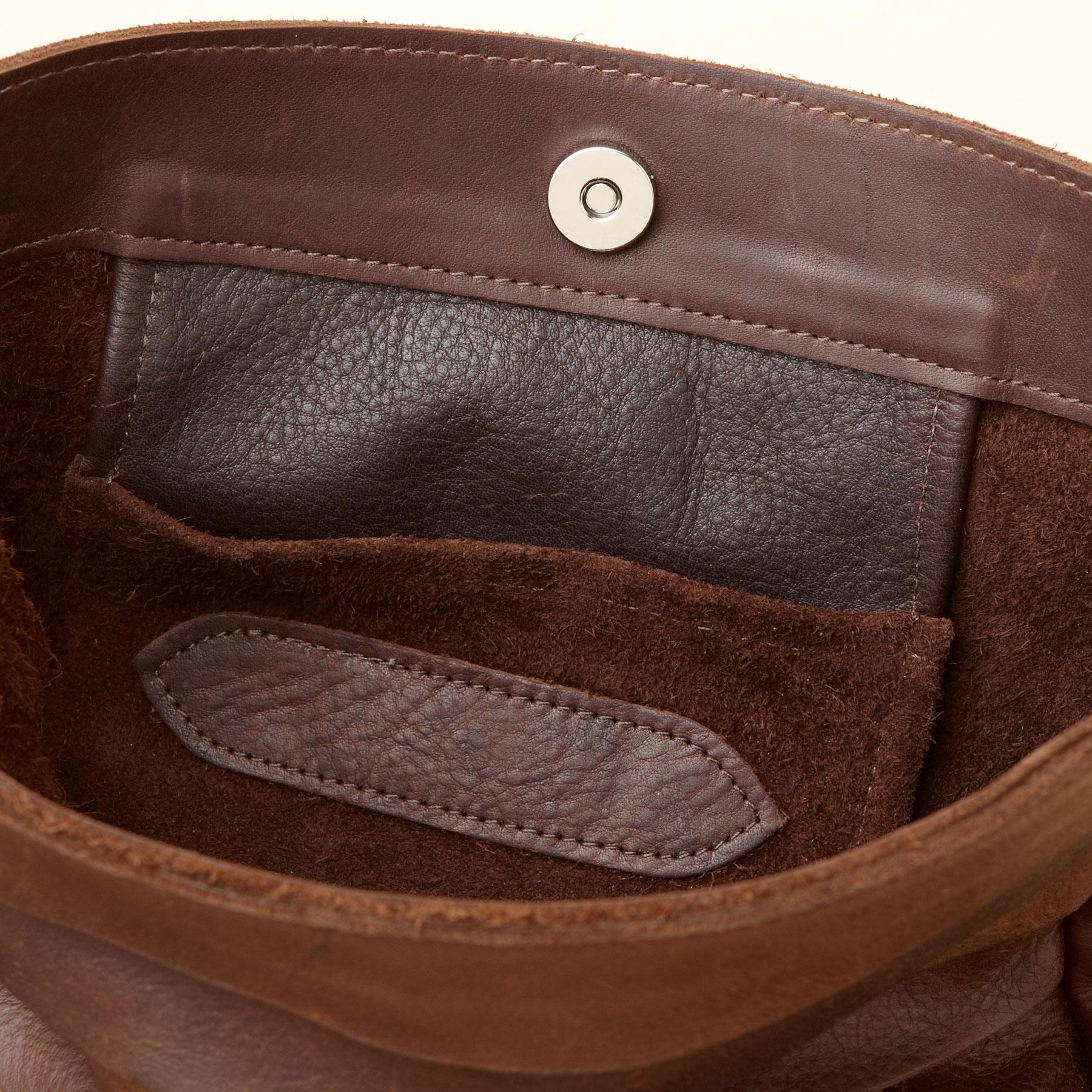 LINES & LEATHER BAG: View 3
