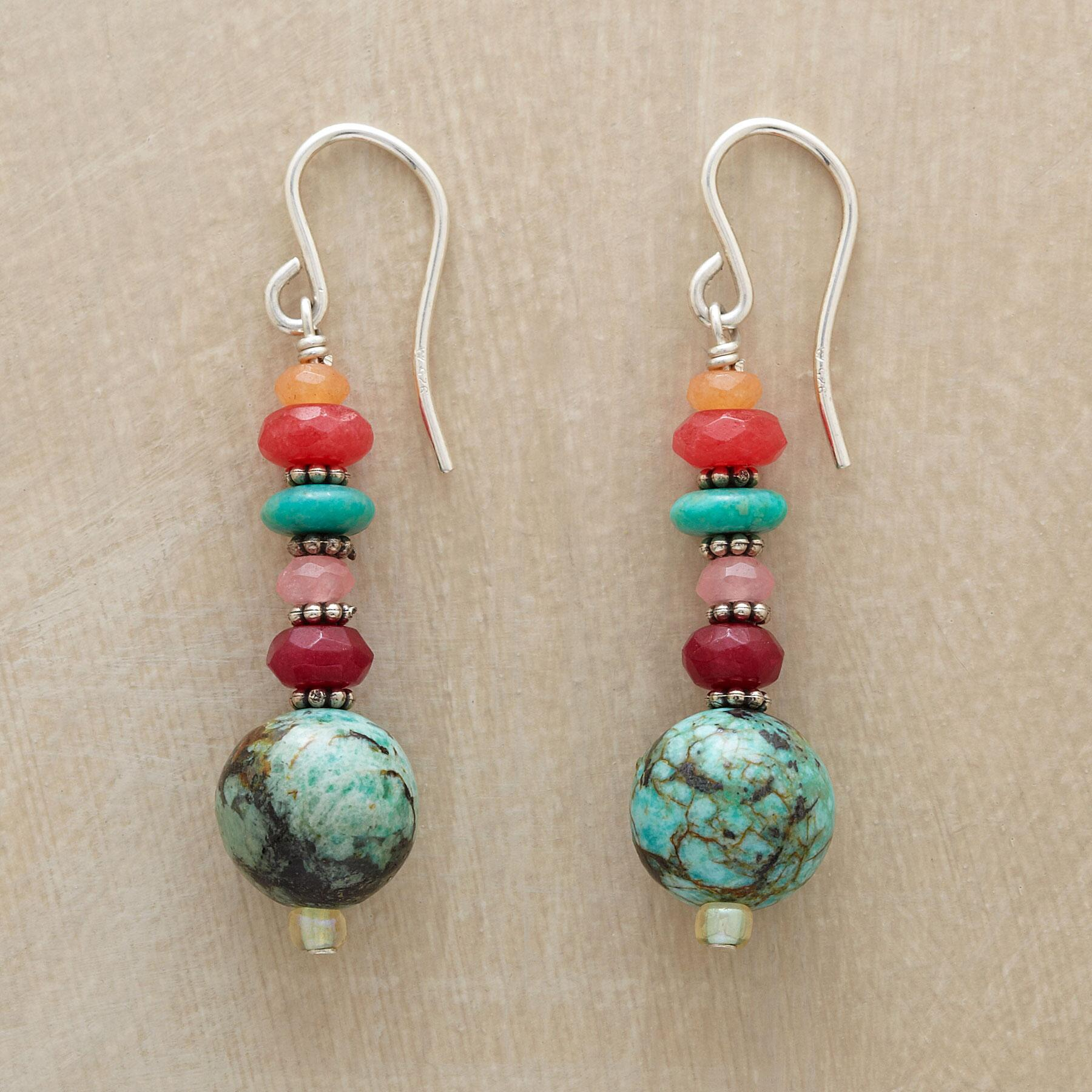 TROPICAL SUNSET EARRINGS: View 1