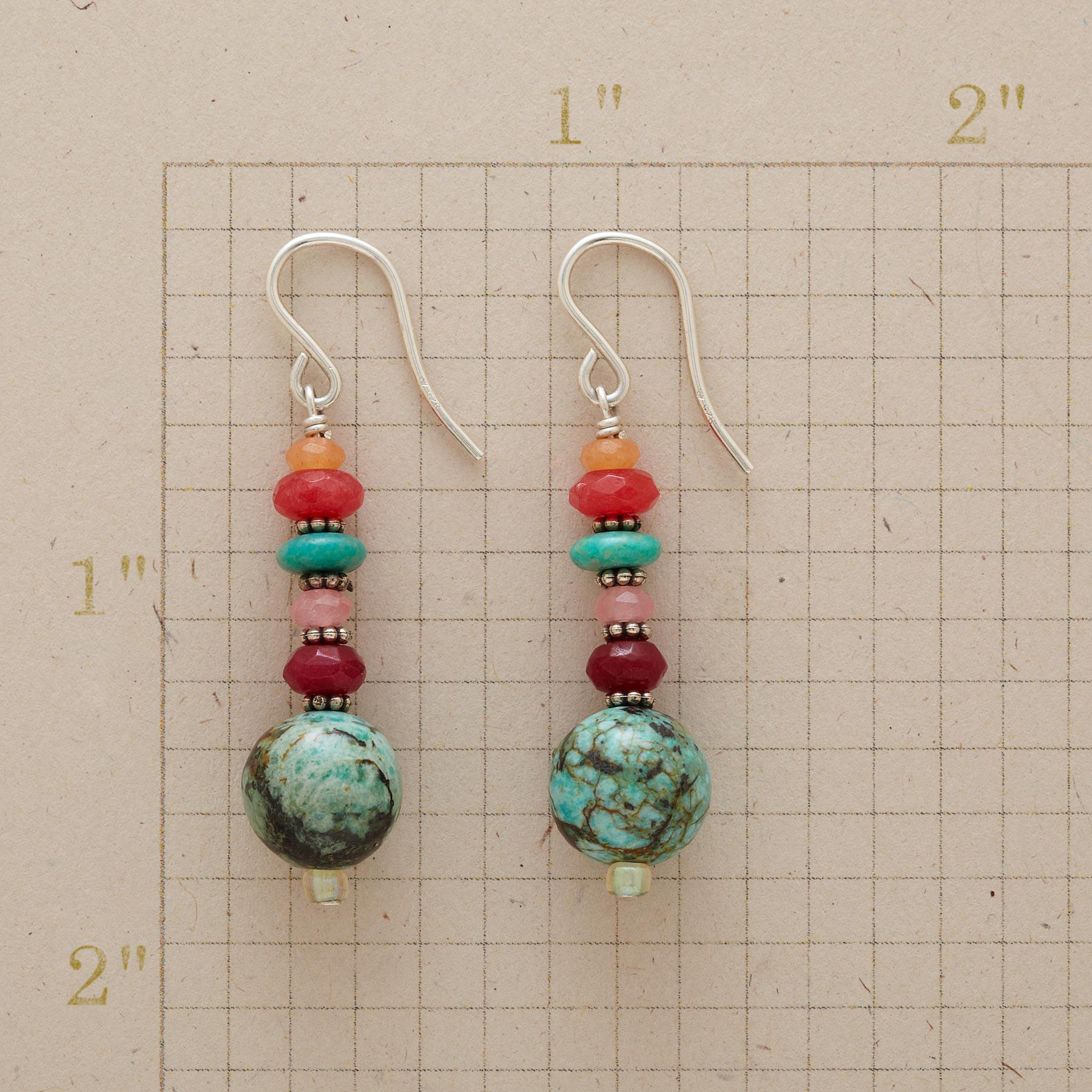 TROPICAL SUNSET EARRINGS: View 2