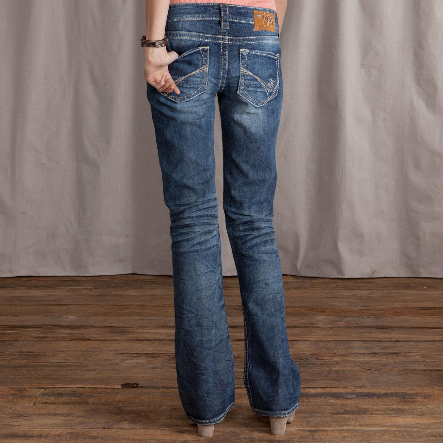 1921 JONI STRAIGHT LEG JEANS: View 2