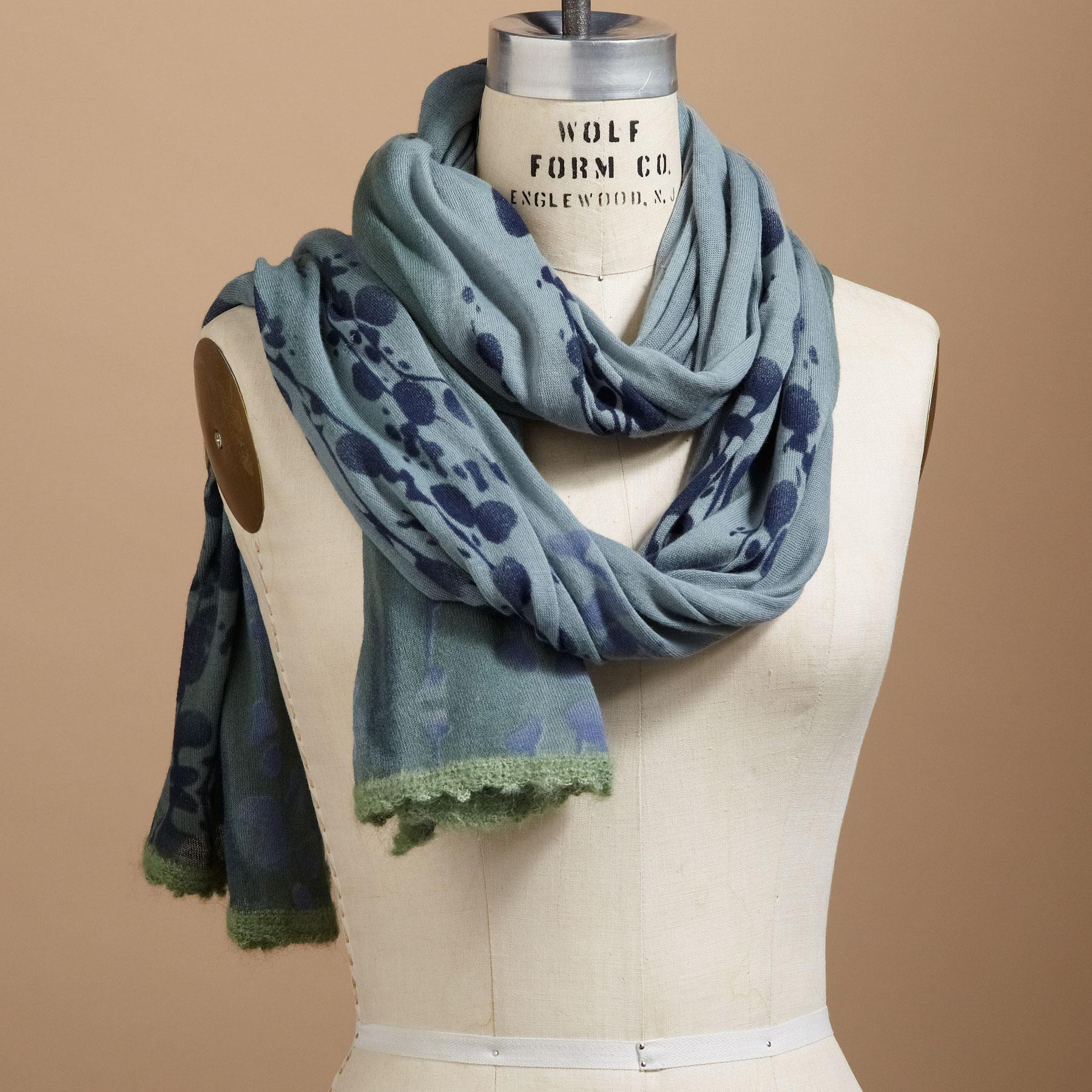 BERRY BRANCH SCARVES: View 1