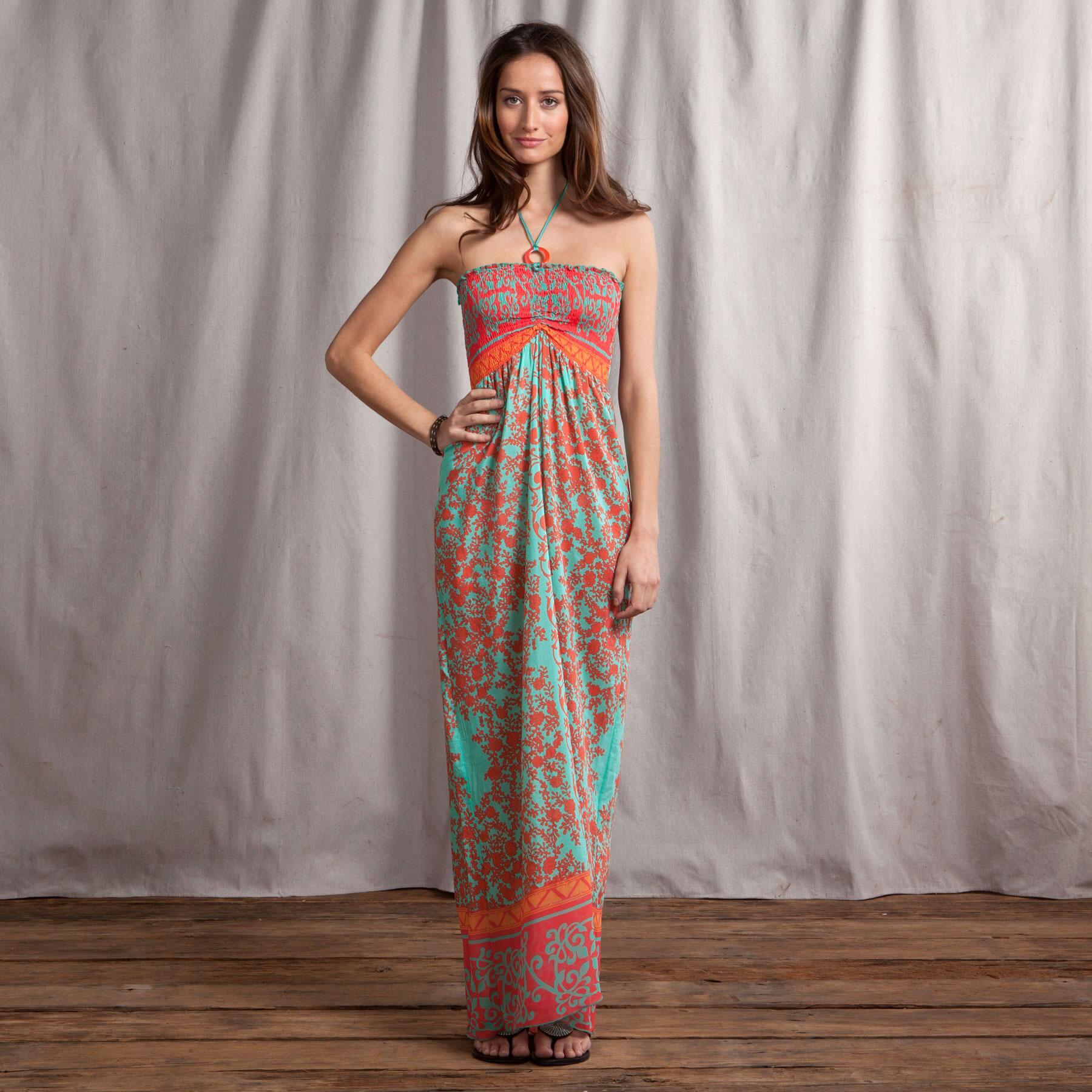 CASBAH MAXI DRESS: View 1