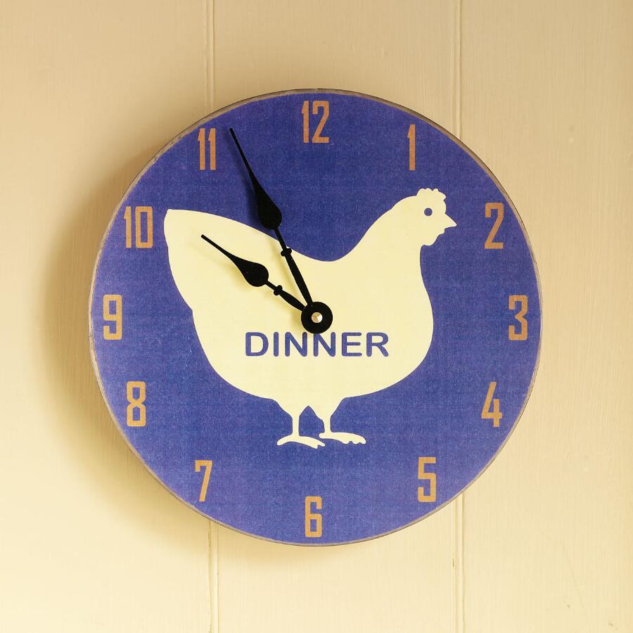 CLASSIC CHICKEN DINNER CLOCK