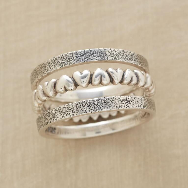 UP AND DOWN RING TRIO
