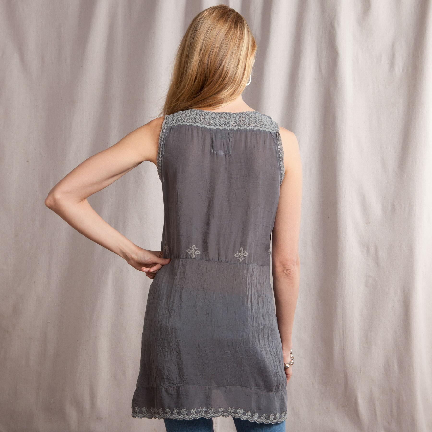 GRACIE LACE TUNIC: View 2