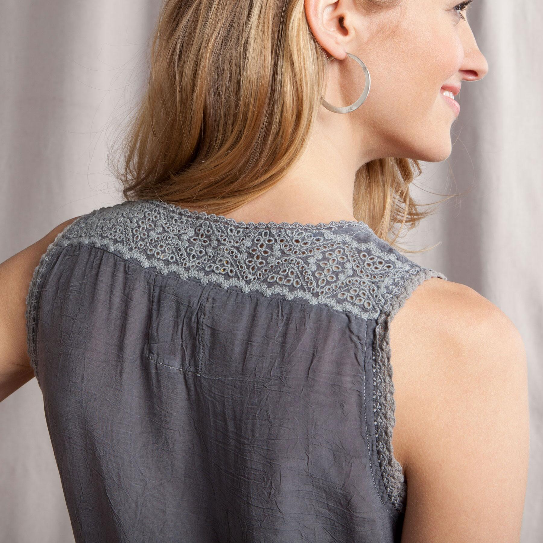 GRACIE LACE TUNIC: View 3