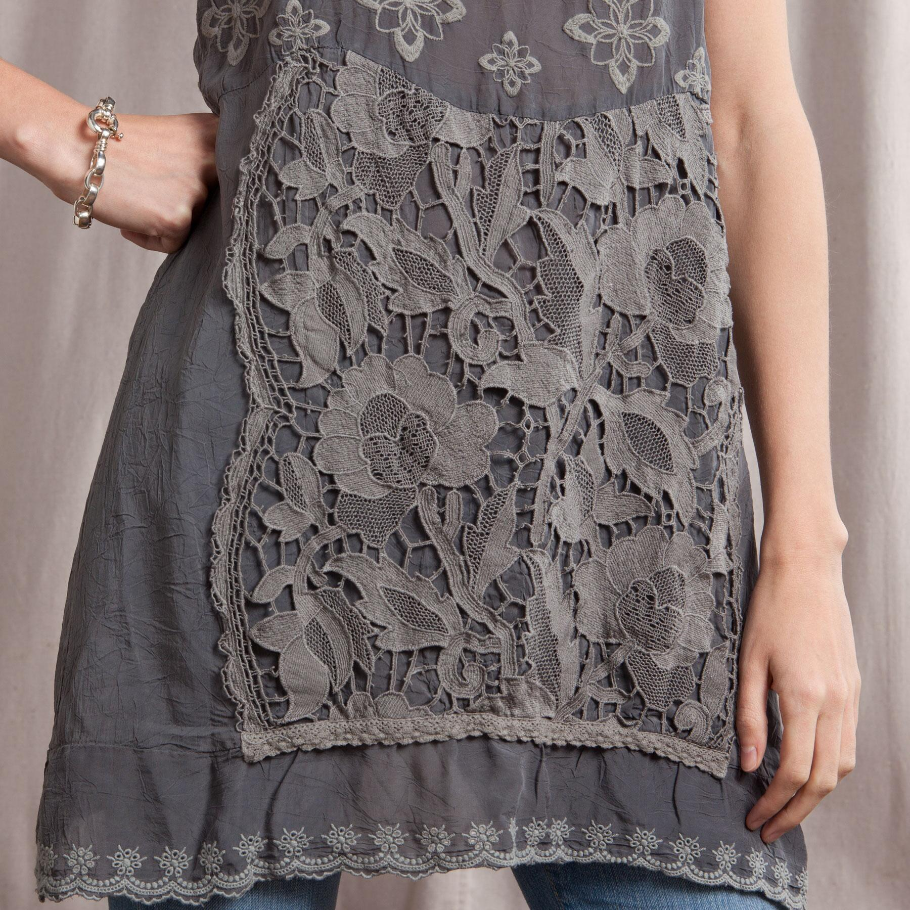 GRACIE LACE TUNIC: View 4