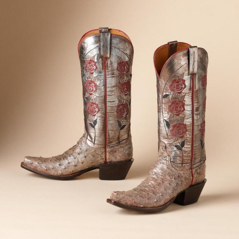 CLASSIC ROSE BOOTS BY LUCCHESE