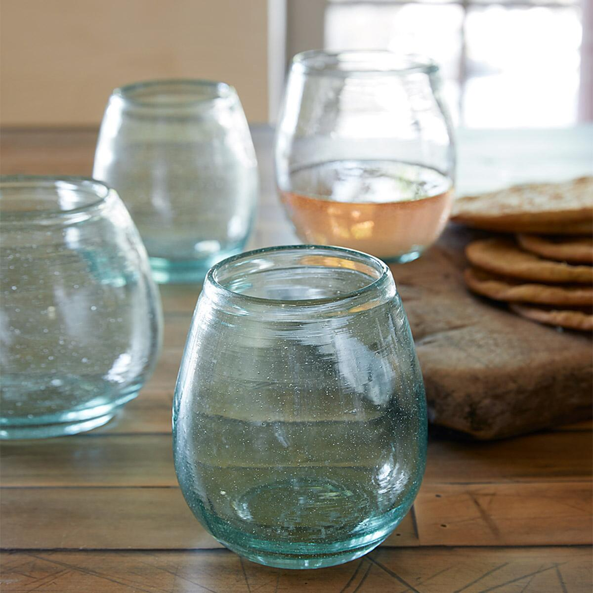 FIRESIDE WINE TUMBLERS, SET OF 4: View 3