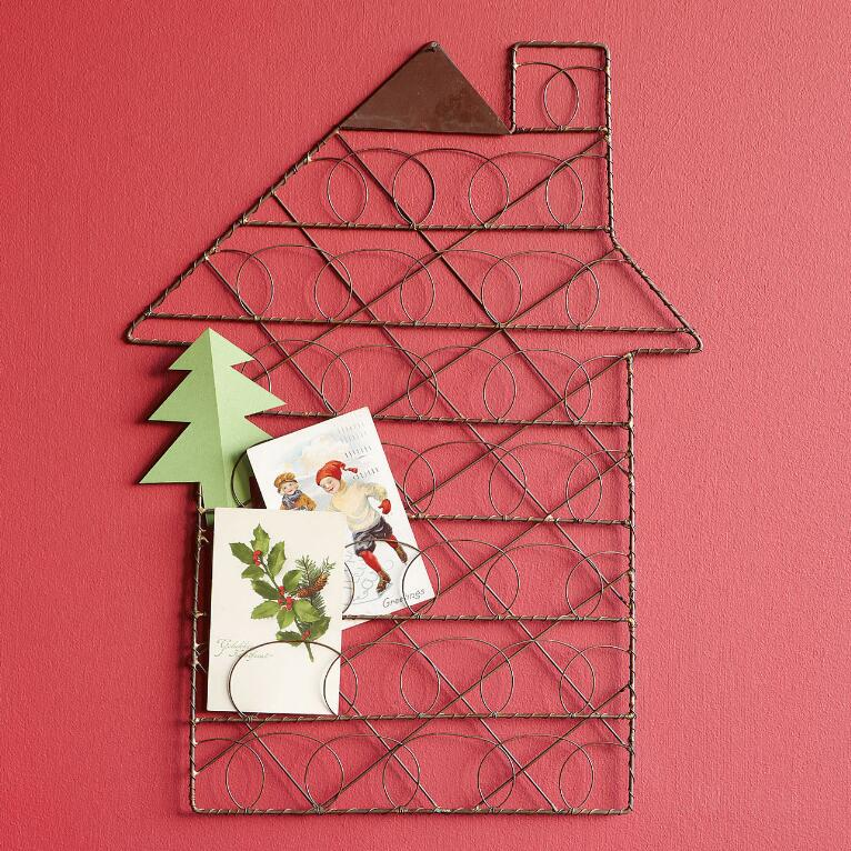 HOLIDAY HOME WIRE ORGANIZER