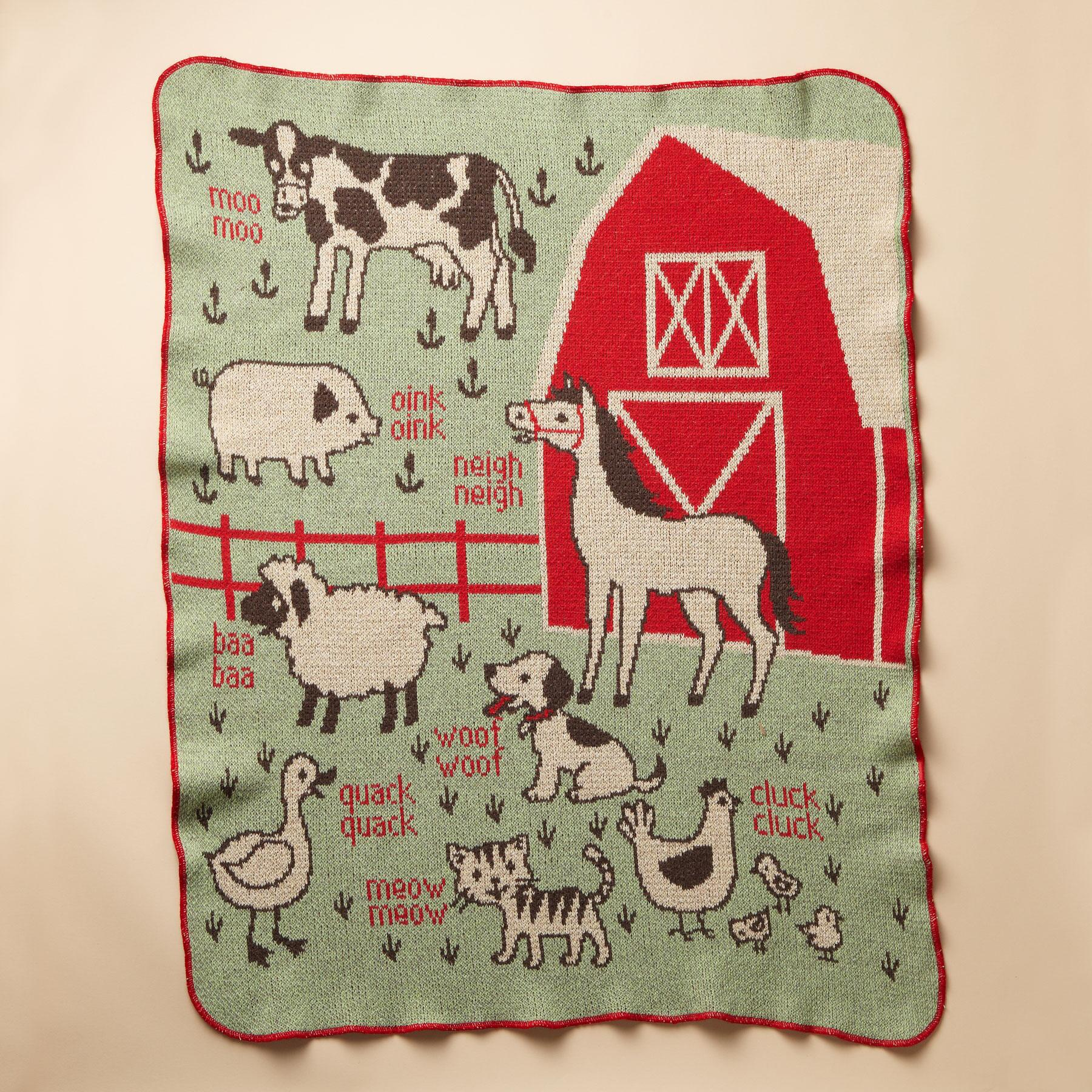 RED BARN BLANKET: View 1