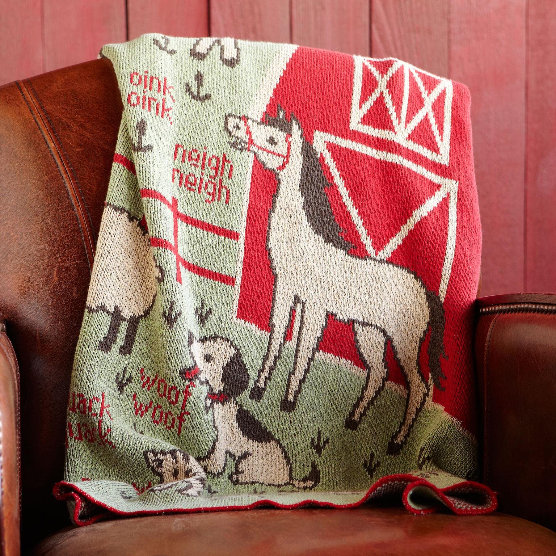 RED BARN BLANKET: View 2
