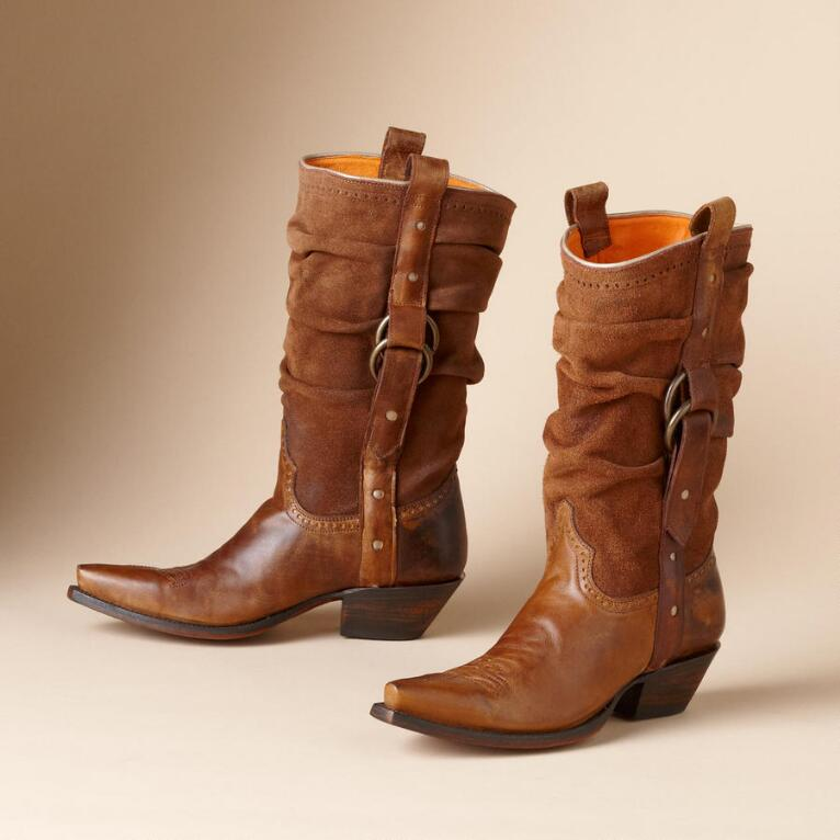 SLOUCH BOOTS BY LUCCHESE