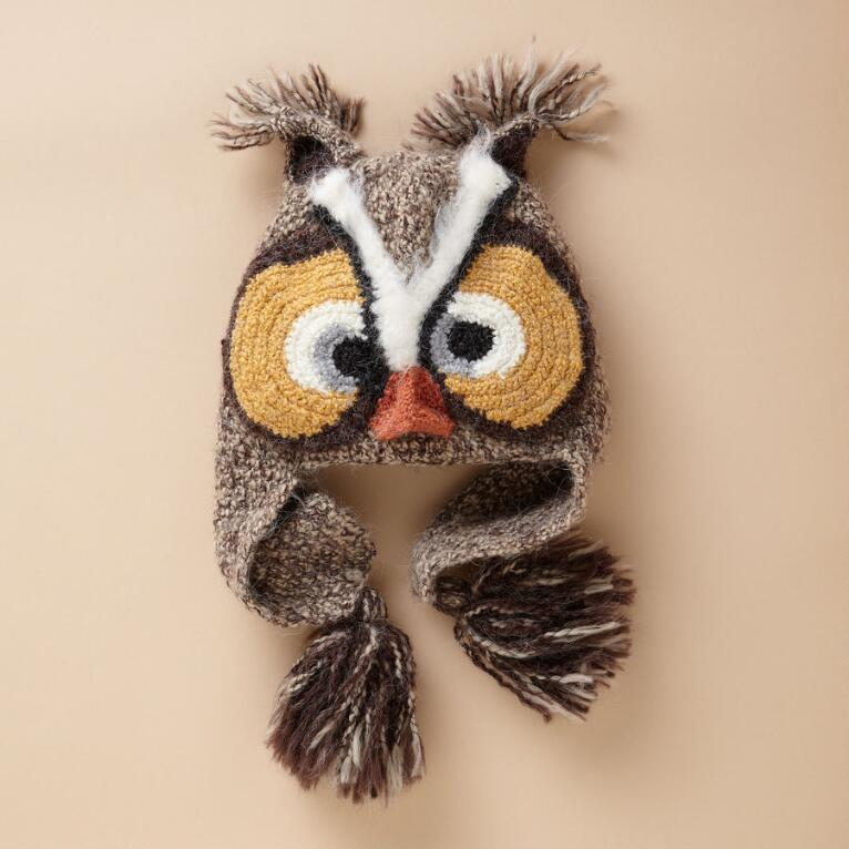 WILD & WHIMSICAL OWL HAT