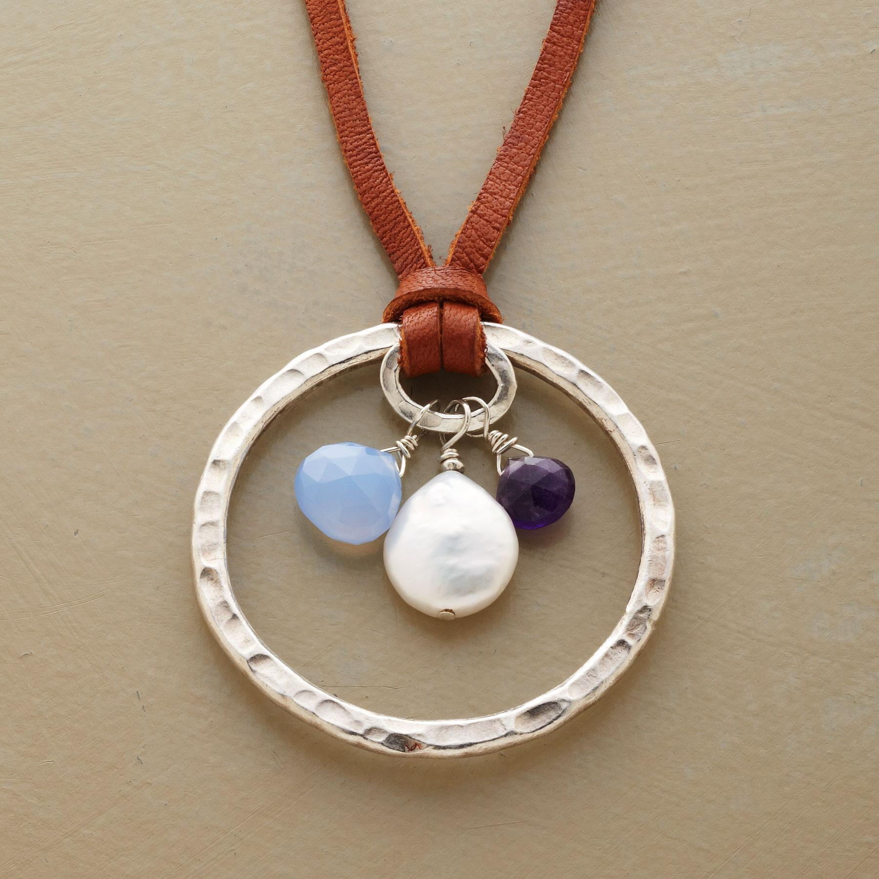 CELESTIAL CIRCLE NECKLACE: View 1