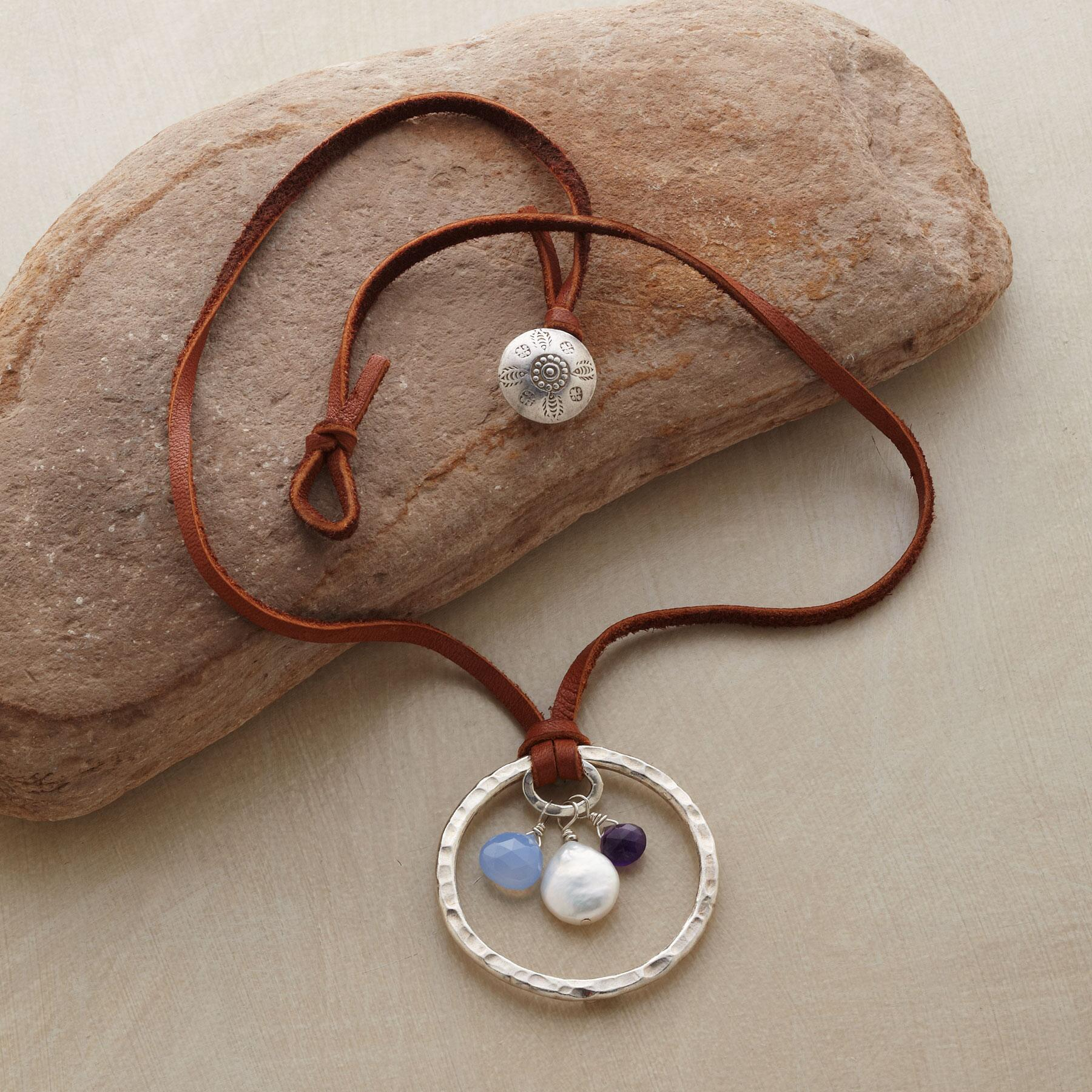 CELESTIAL CIRCLE NECKLACE: View 2