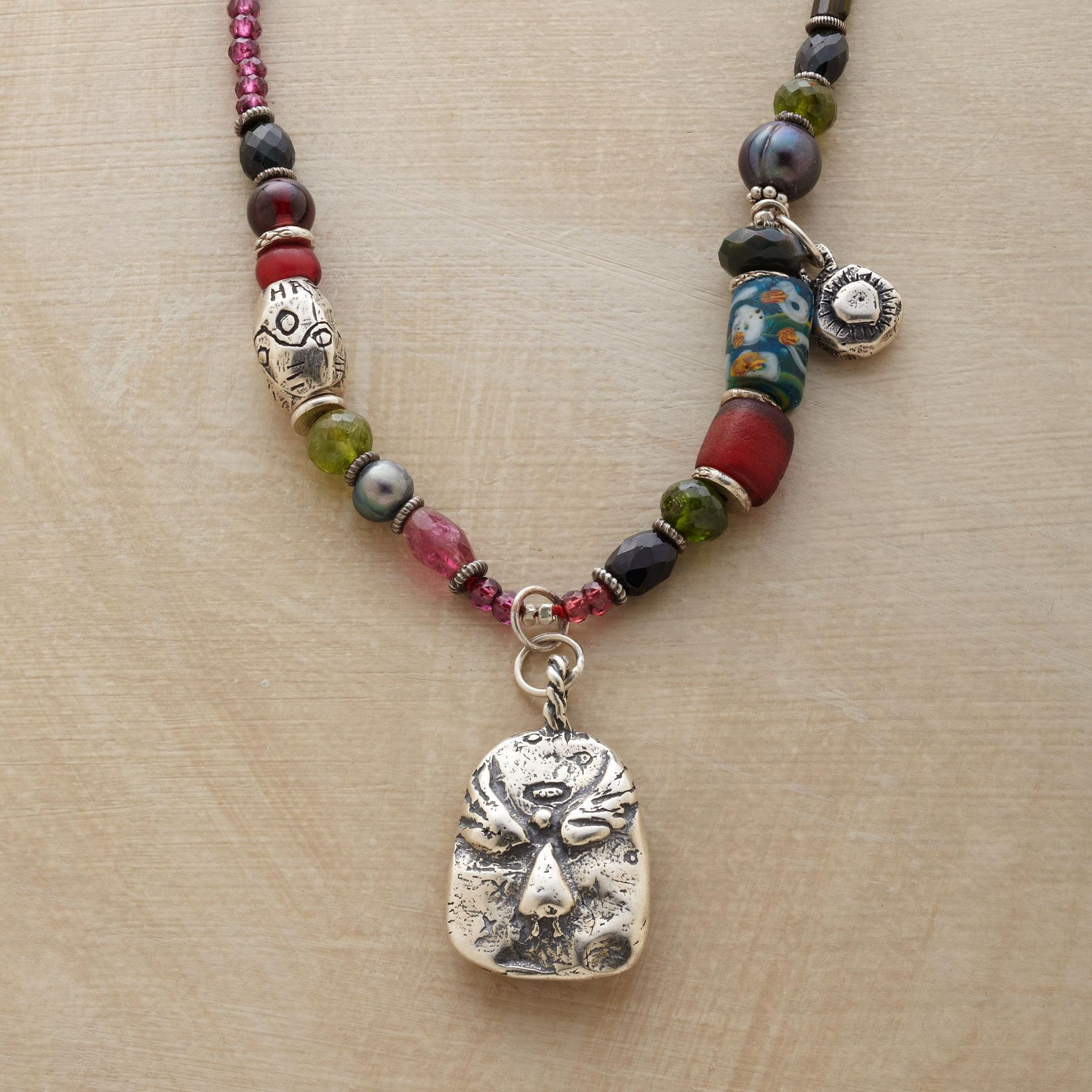 MIDNIGHT BLESSINGS NECKLACE: View 1