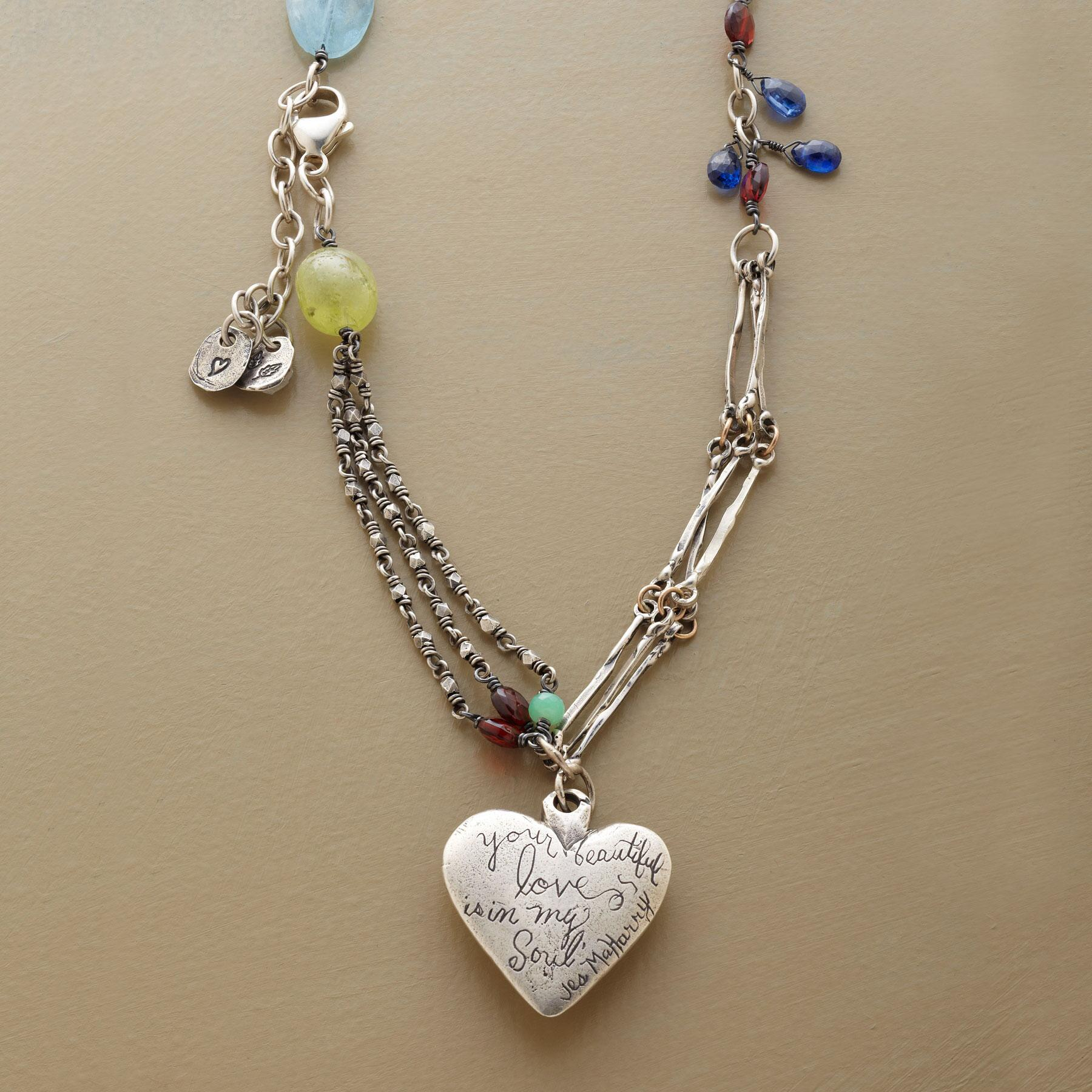 HEART OF WINTER NECKLACE: View 1