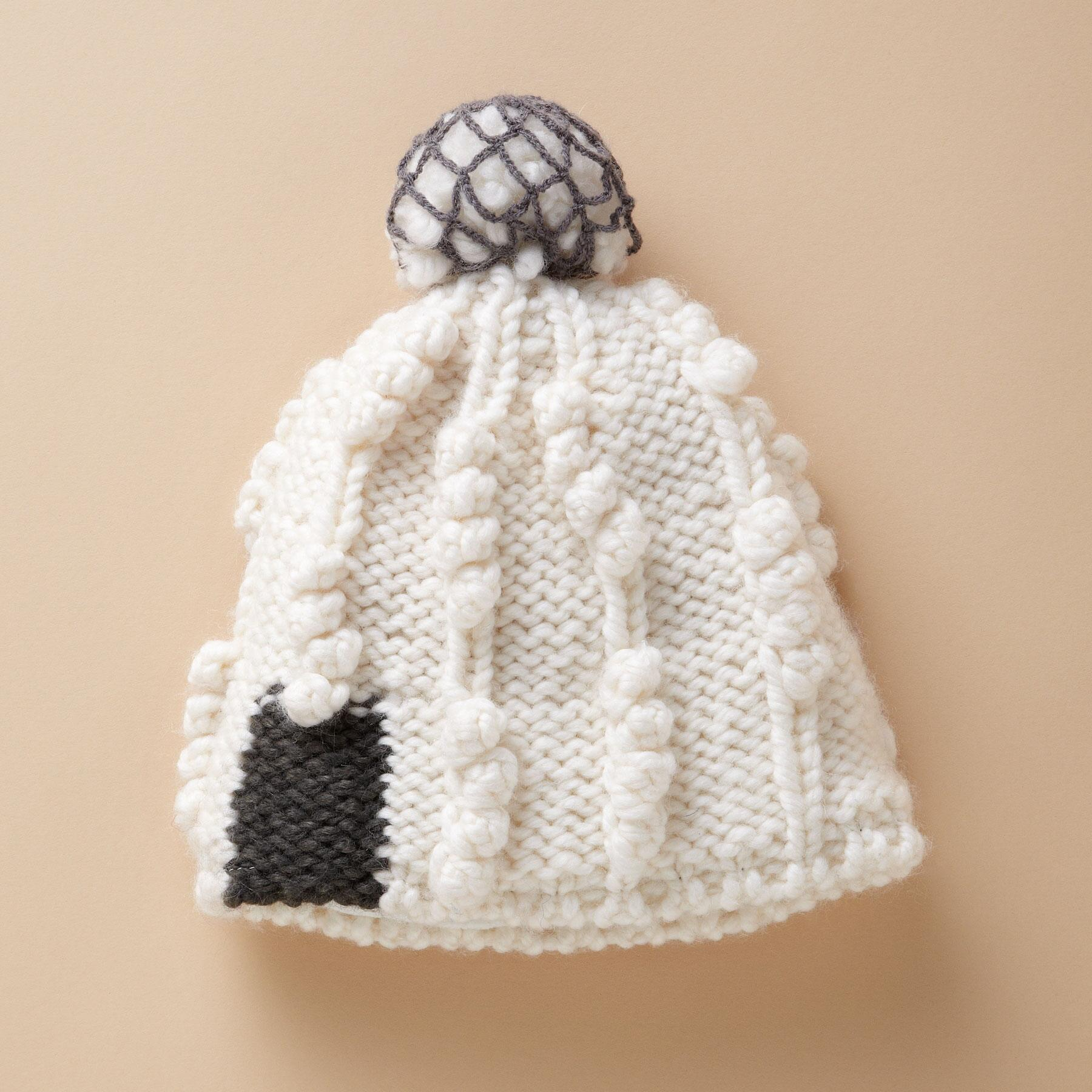 SNOWBALL HAT: View 1
