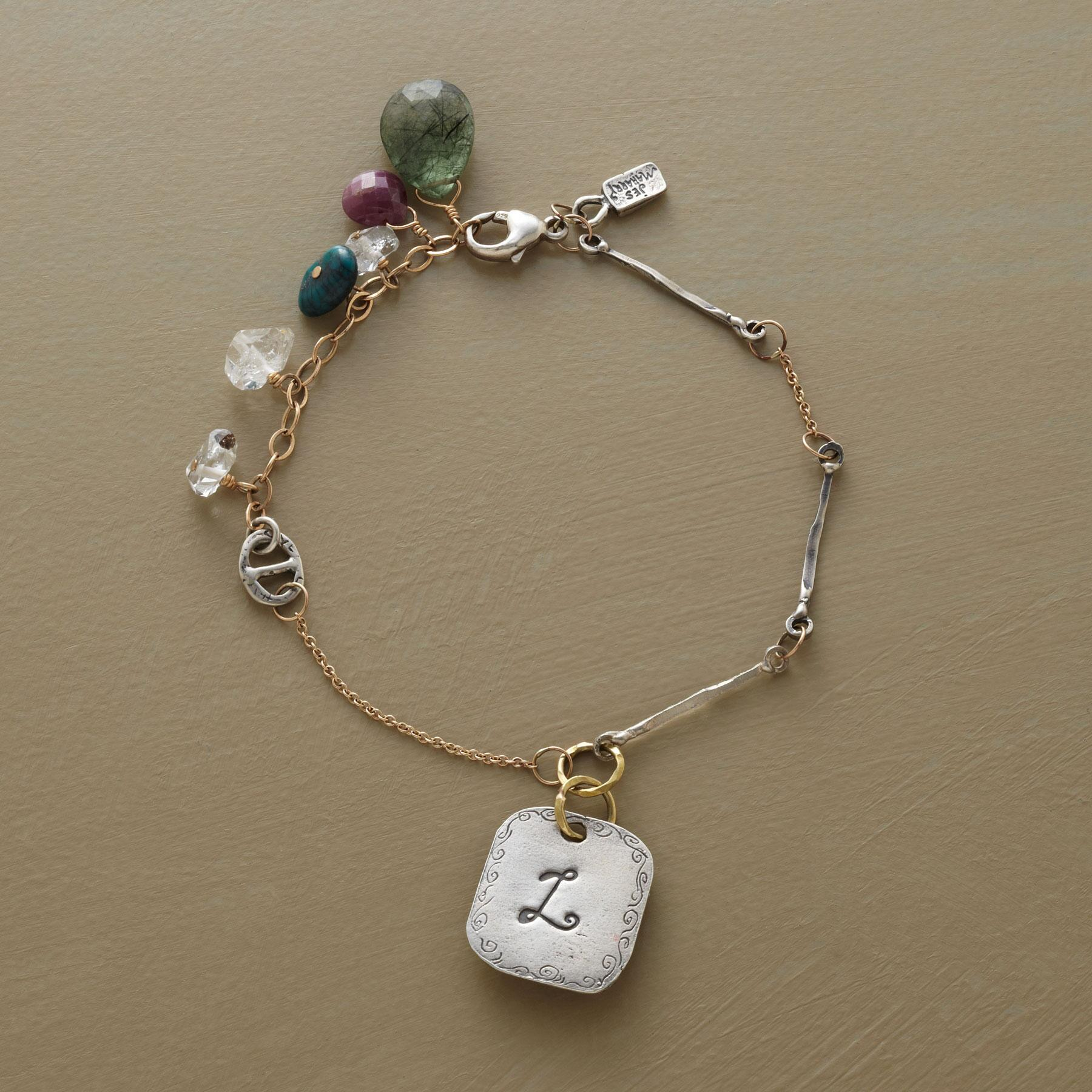 PERSONALIZED CHARMER BRACELET BY JES MAHARRY: View 1