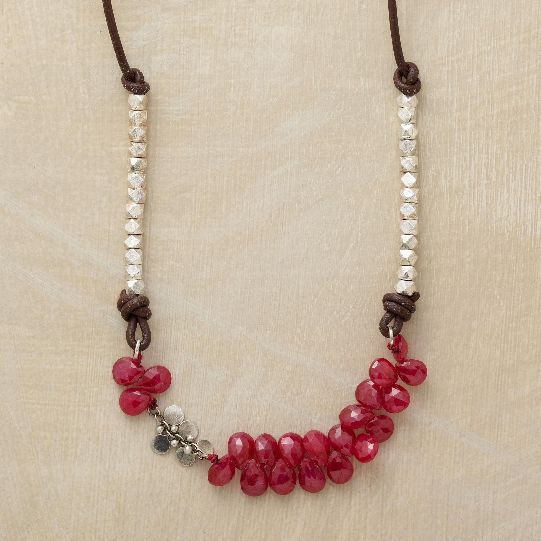 RUBIES AND MORE NECKLACE: View 1
